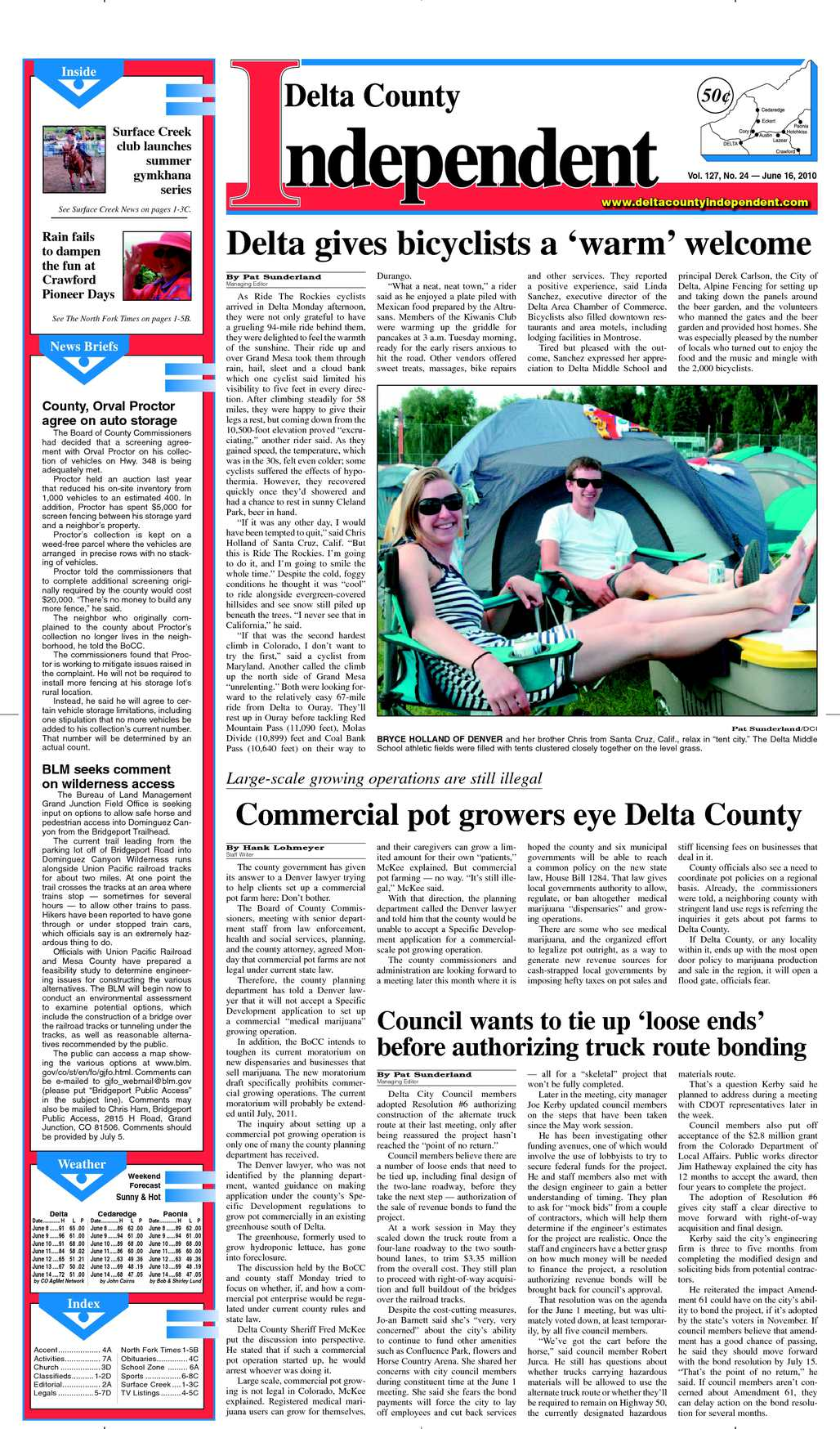 Calaméo - Delta County Independent, Issue 24, June 16, 2010