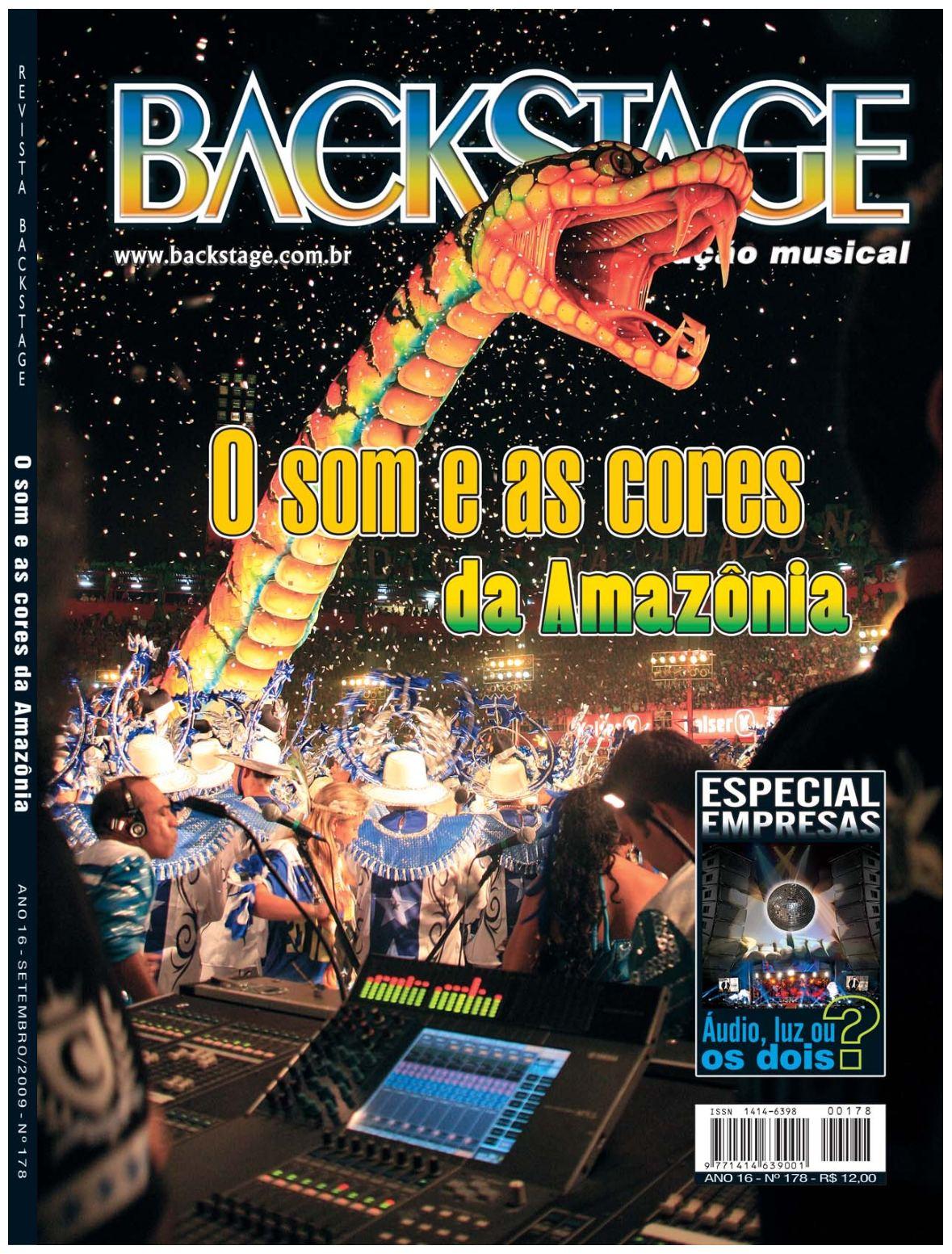 7ed841595 Calaméo - Revista Backstage Edição 178