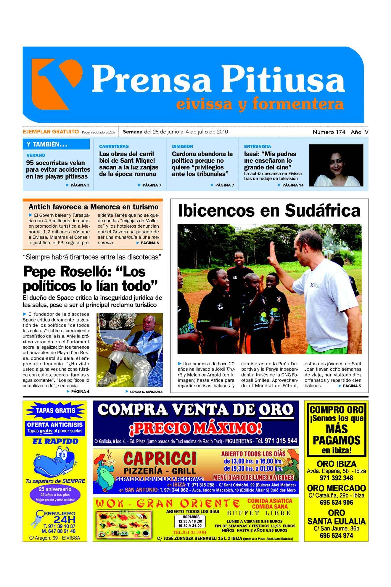 c68efc381610 Calaméo - Prensa Pitiusa edición 174