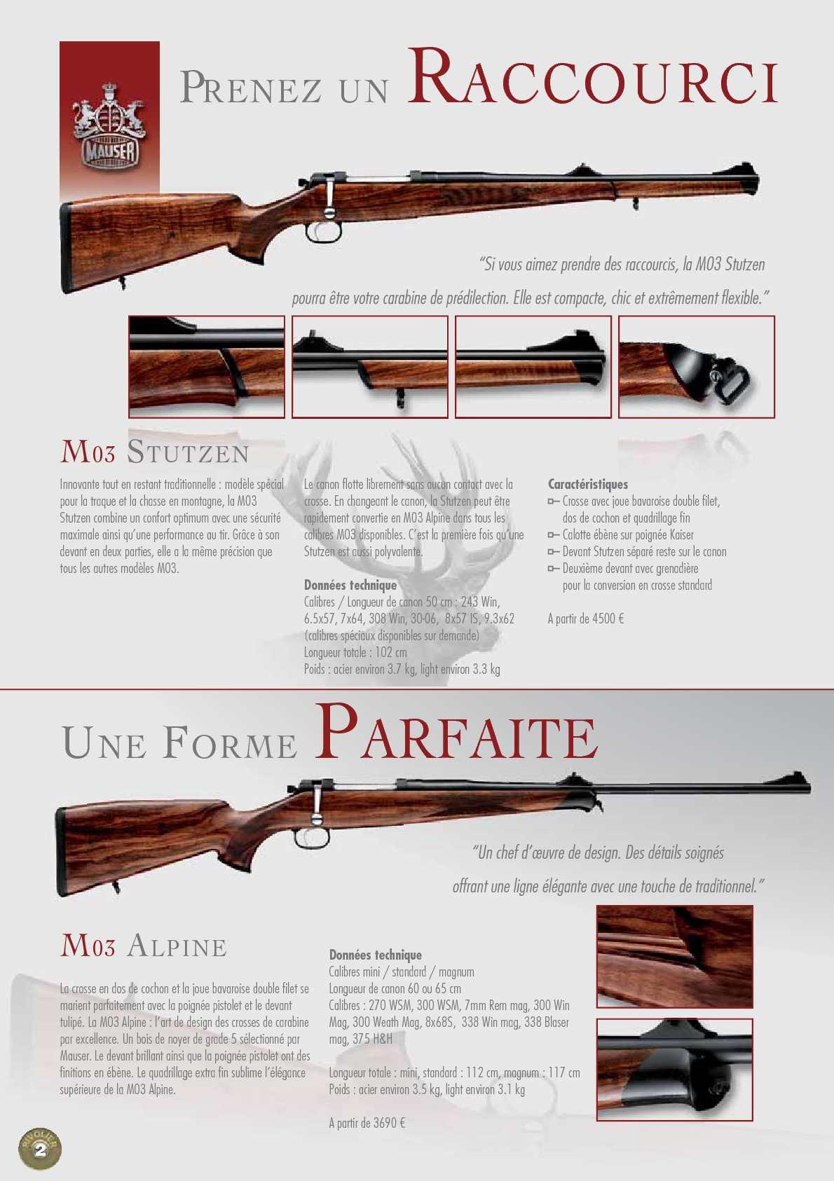 Calaméo - Catalogue Mauser 2010 / 2011