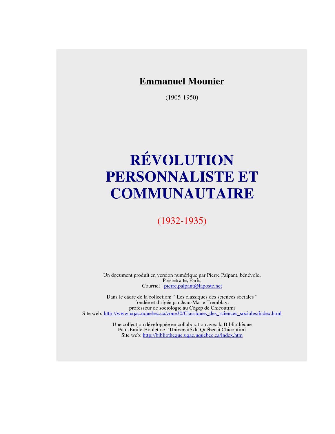 Calaméo - RÉVOLUTION PERSONNALISTE. 58b46eb54e7b