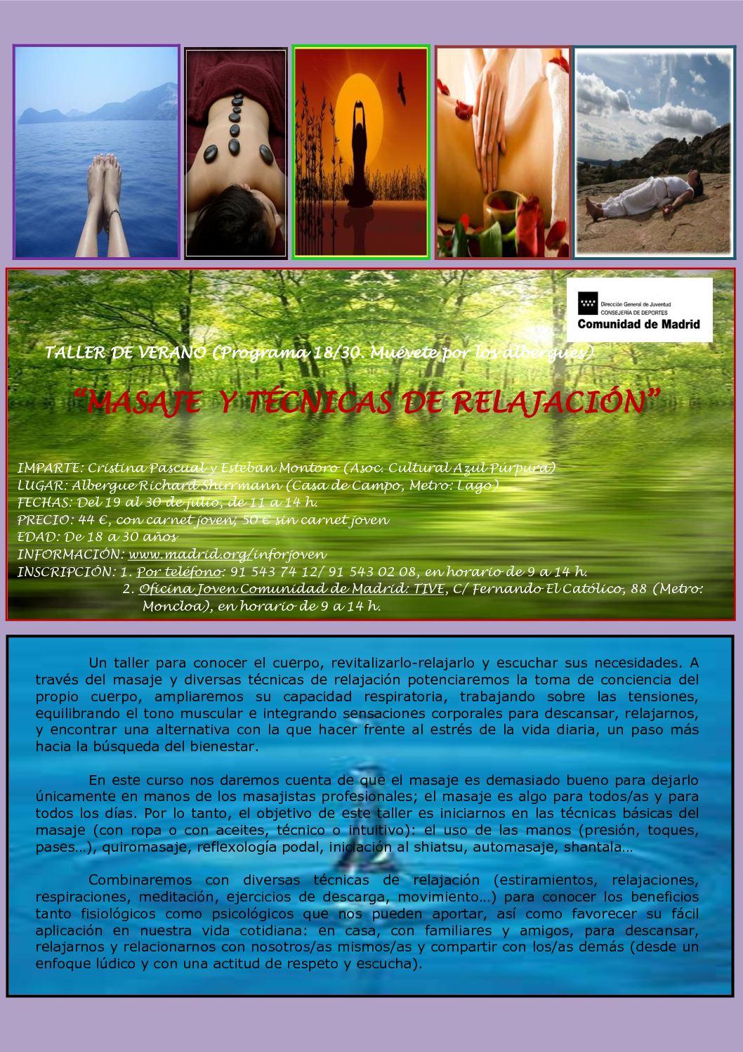 Calaméo - Taller de Técnicas de Relajación y Masaje Julio 2010