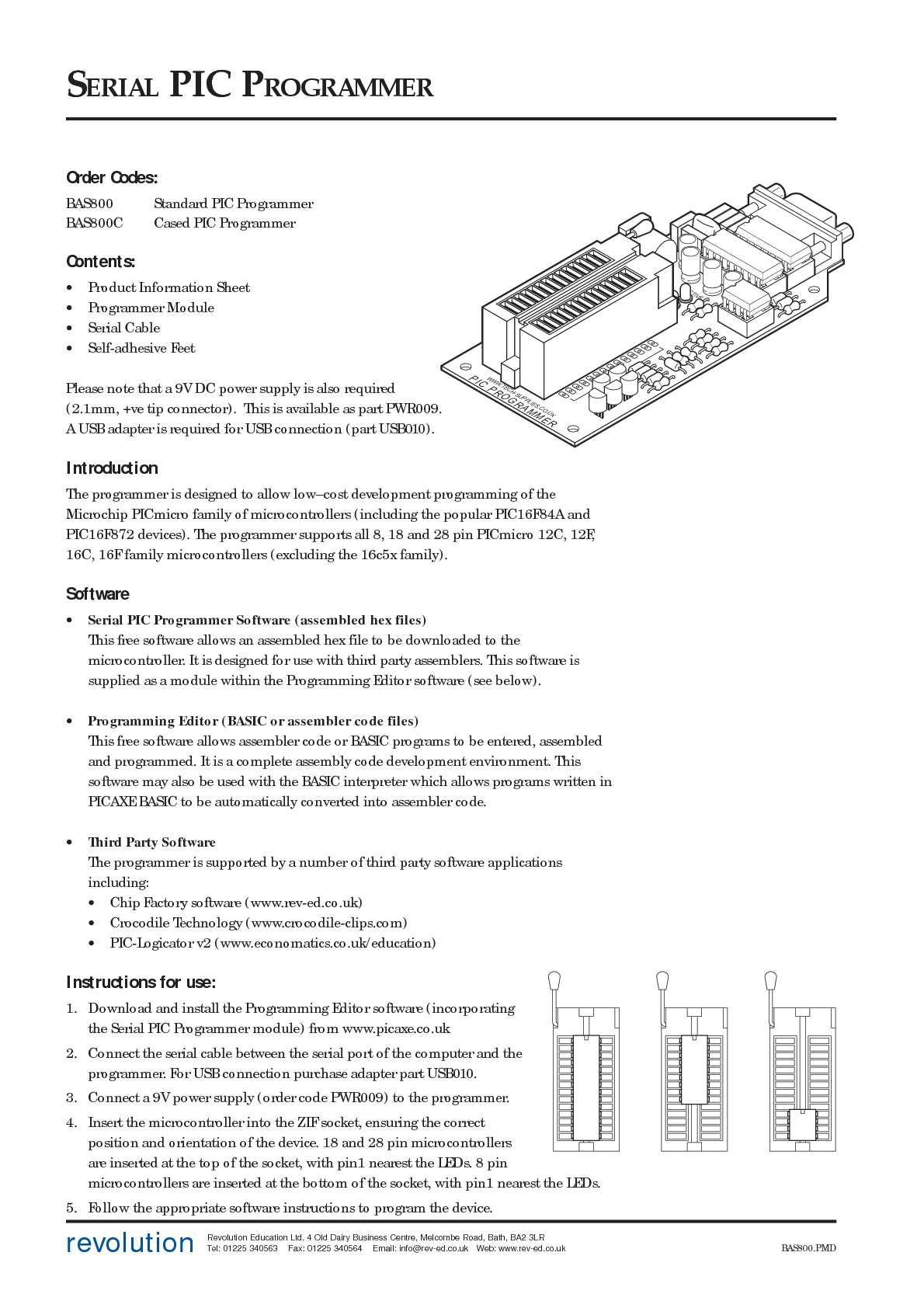 Calaméo - BAS800_DATASHEET