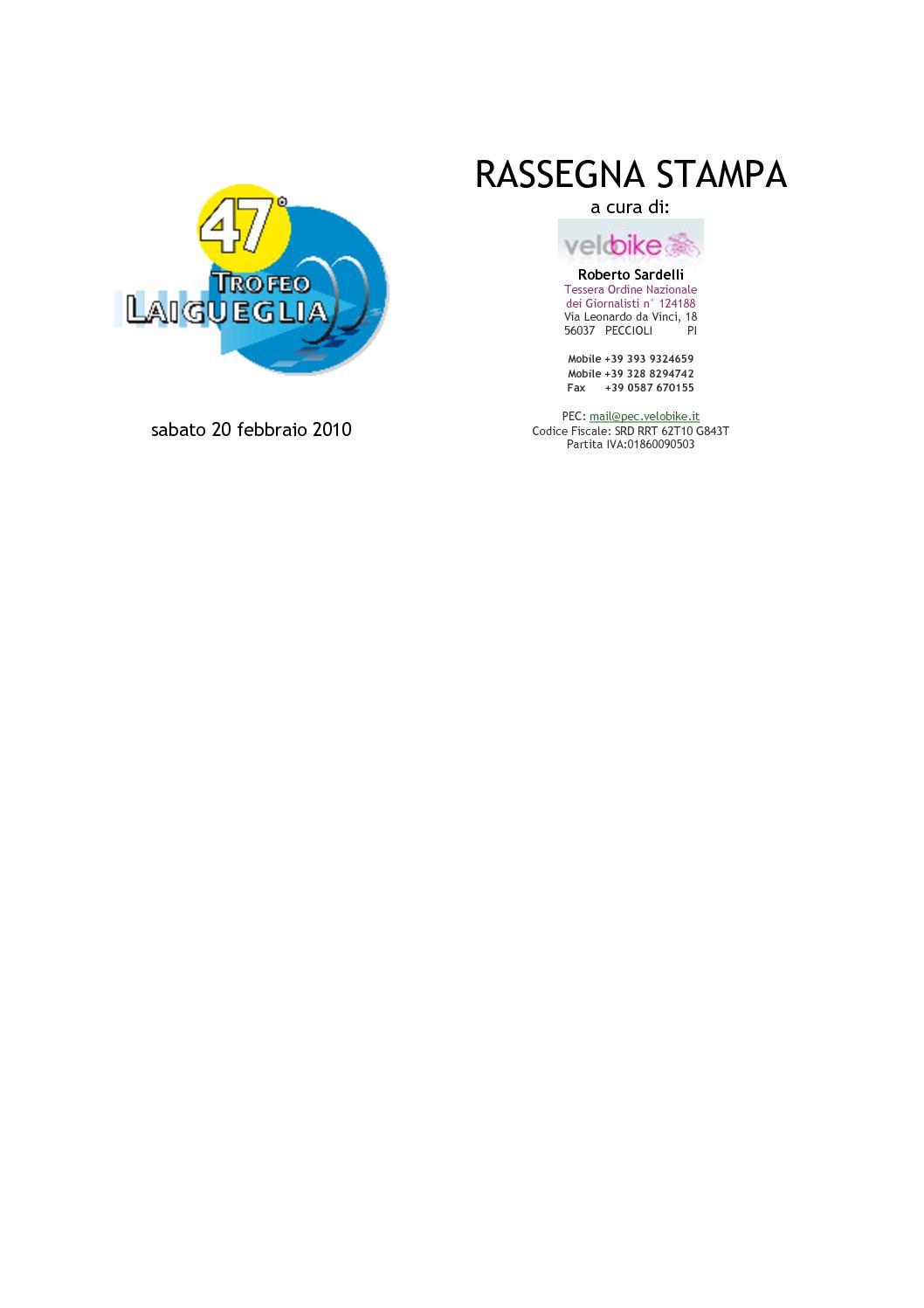 be27fae6b3ed Calaméo - Rassegna Stampa 47° Trofeo Laigueglia