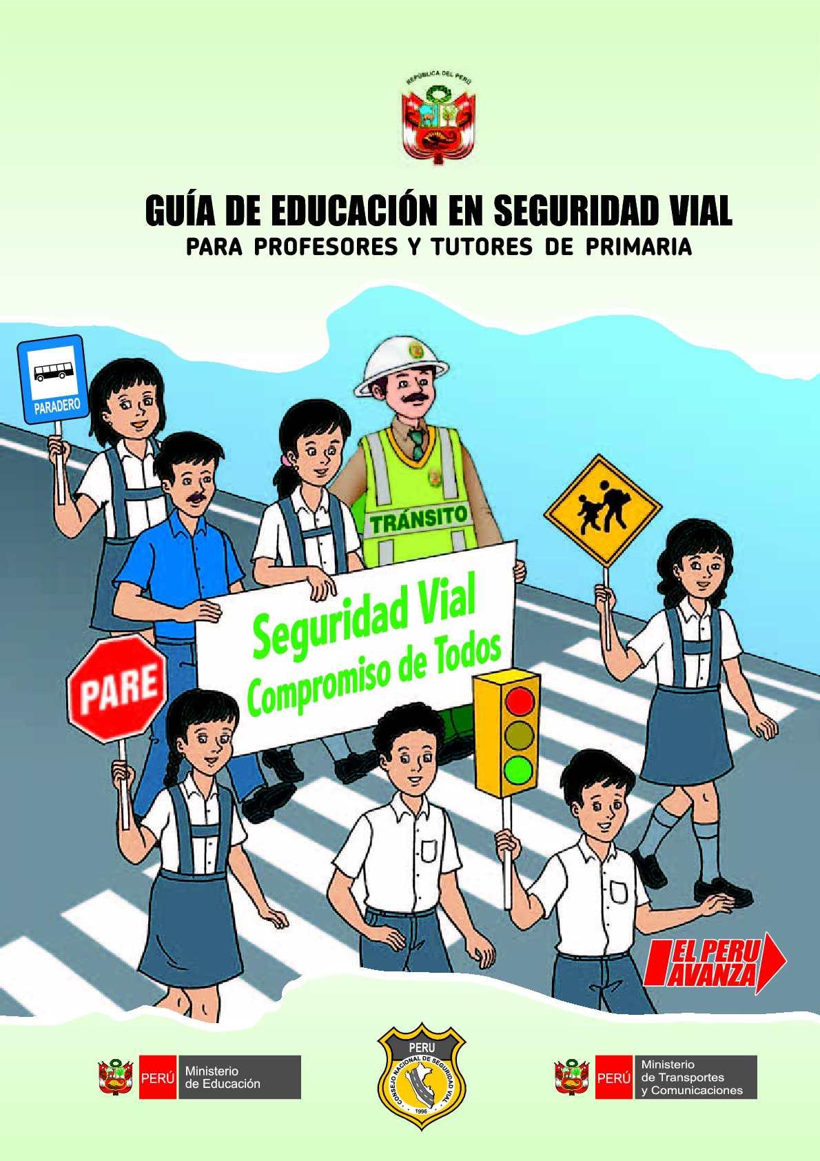 Calaméo Guia De Educacion Vial