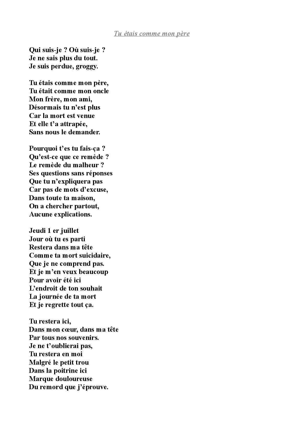 Calaméo Mon Recueil De Poèmes