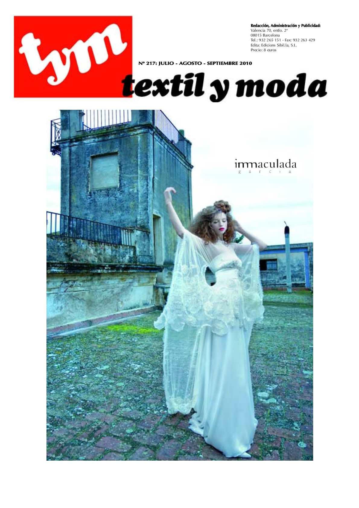 Calaméo - Textil y Moda 217 fc09e827342