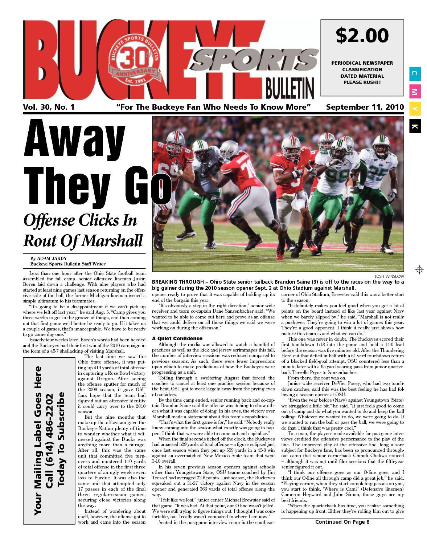 cbe4b07ab941 Calaméo - Buckeye Sports Bulletin September 2010 Print Edition