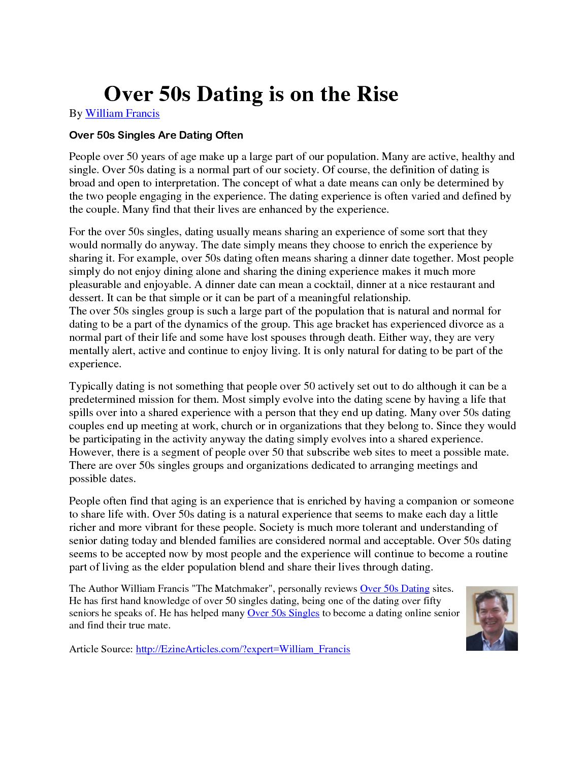 dating services for seniors reviews