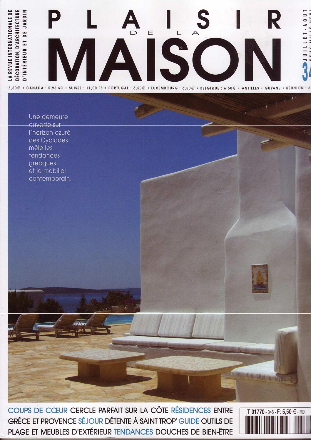 C Maison Et Jardin Magazine calaméo - 6.0.plaisir de la maison juillet-aout 2009