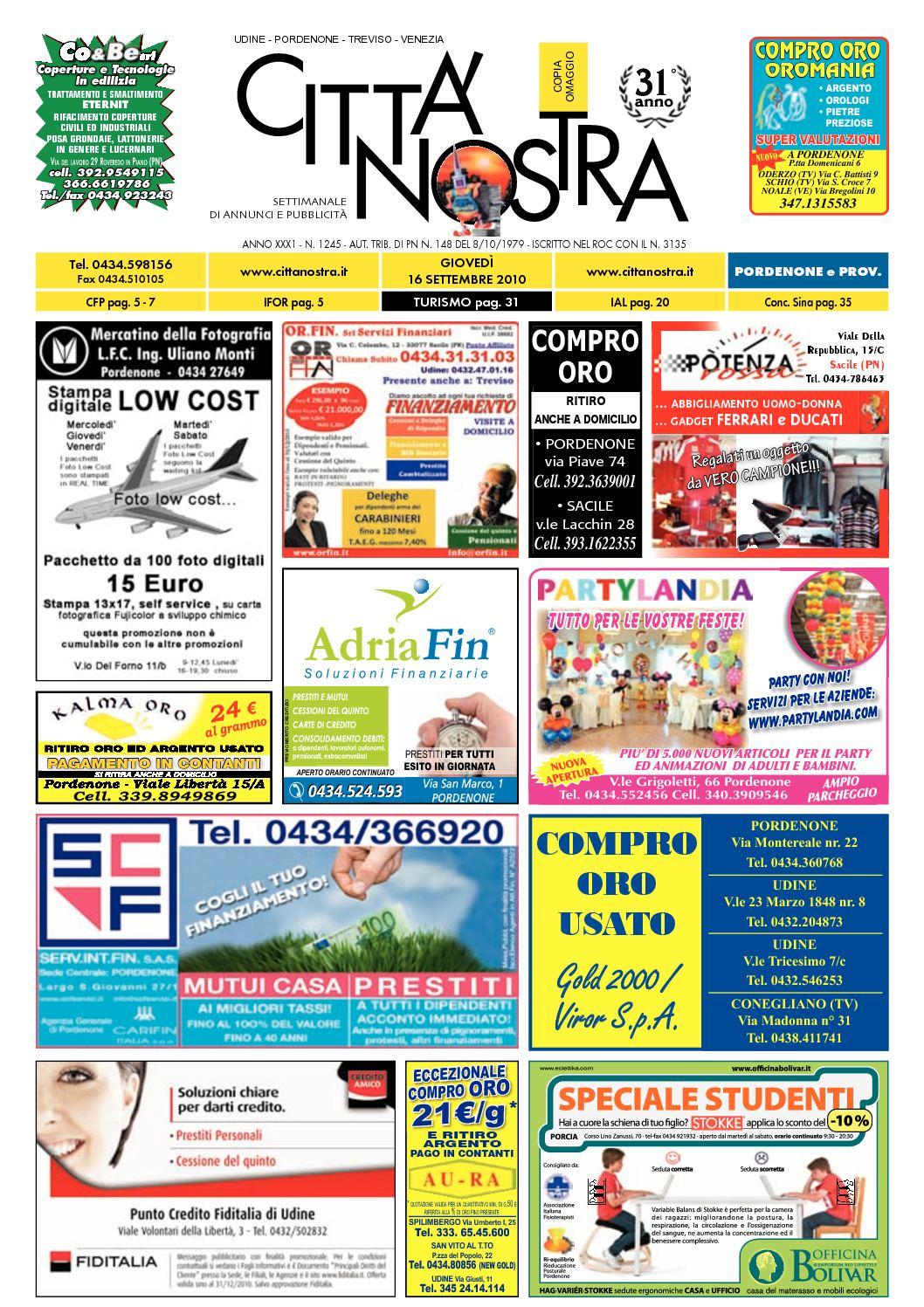 16 2010 Nostra Pordenone Del Calamᄄᆭo 09 N1245 Cittᄄᄂ N0m8nw