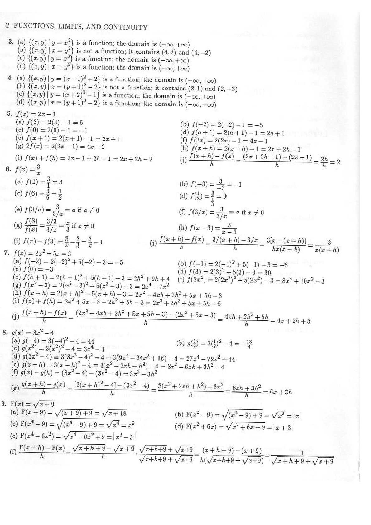 solucionario del libro de calculo de leithold
