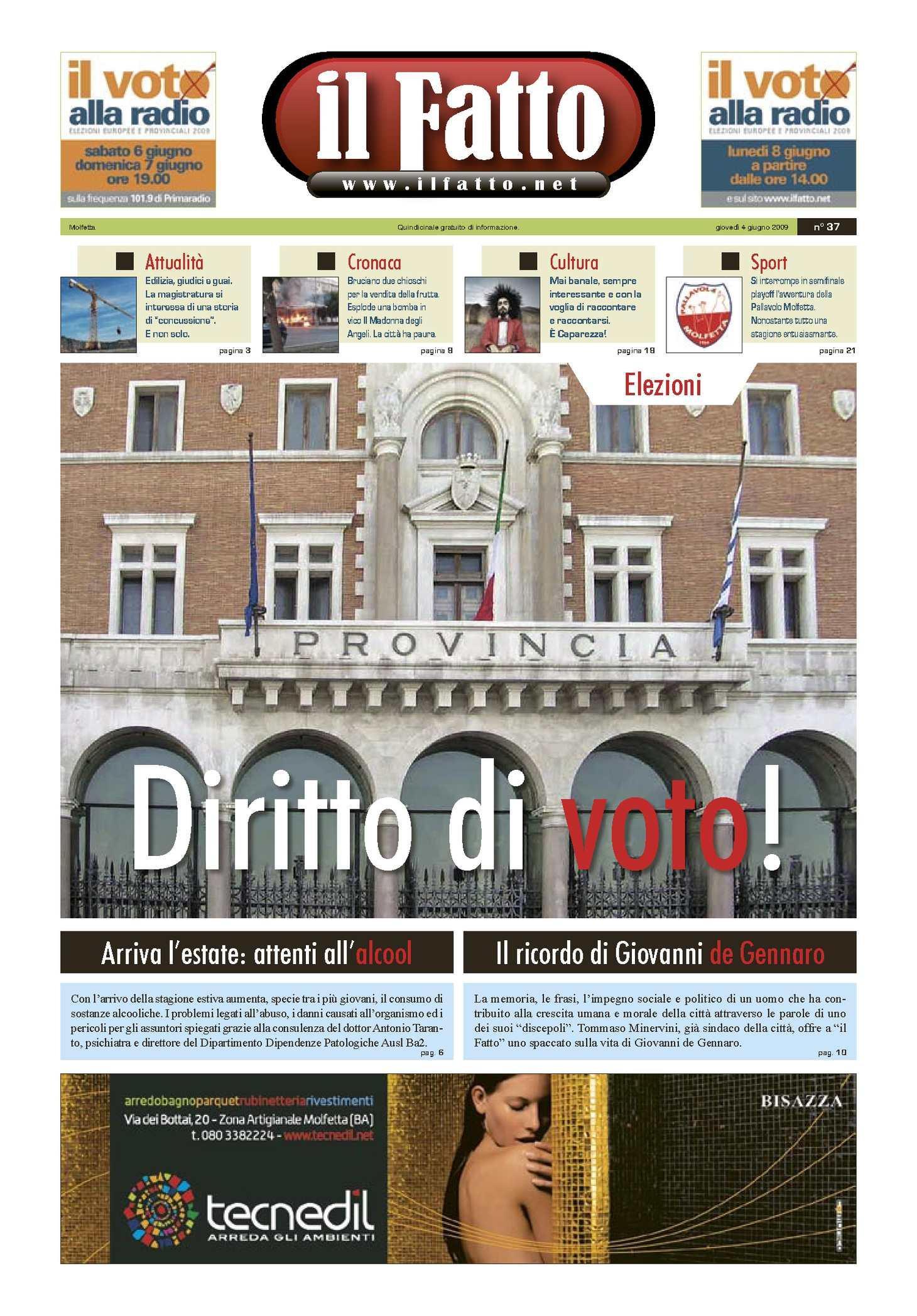 Di Pinto Bisceglie Materiale Edile calaméo - numero 037 del 04/06/2009