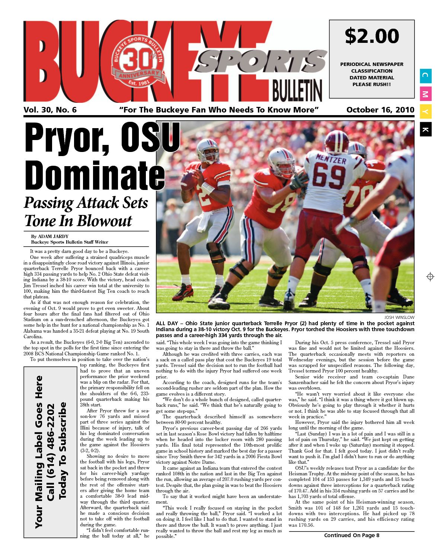 5323eb5a Calaméo - Buckeye Sports Bulletin Oct 16, 2010 Print Edition