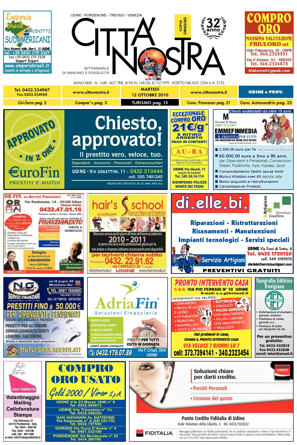 82896e61f0c8a6 Calaméo - Città Nostra Udine del 12.10.2010 n. 1249