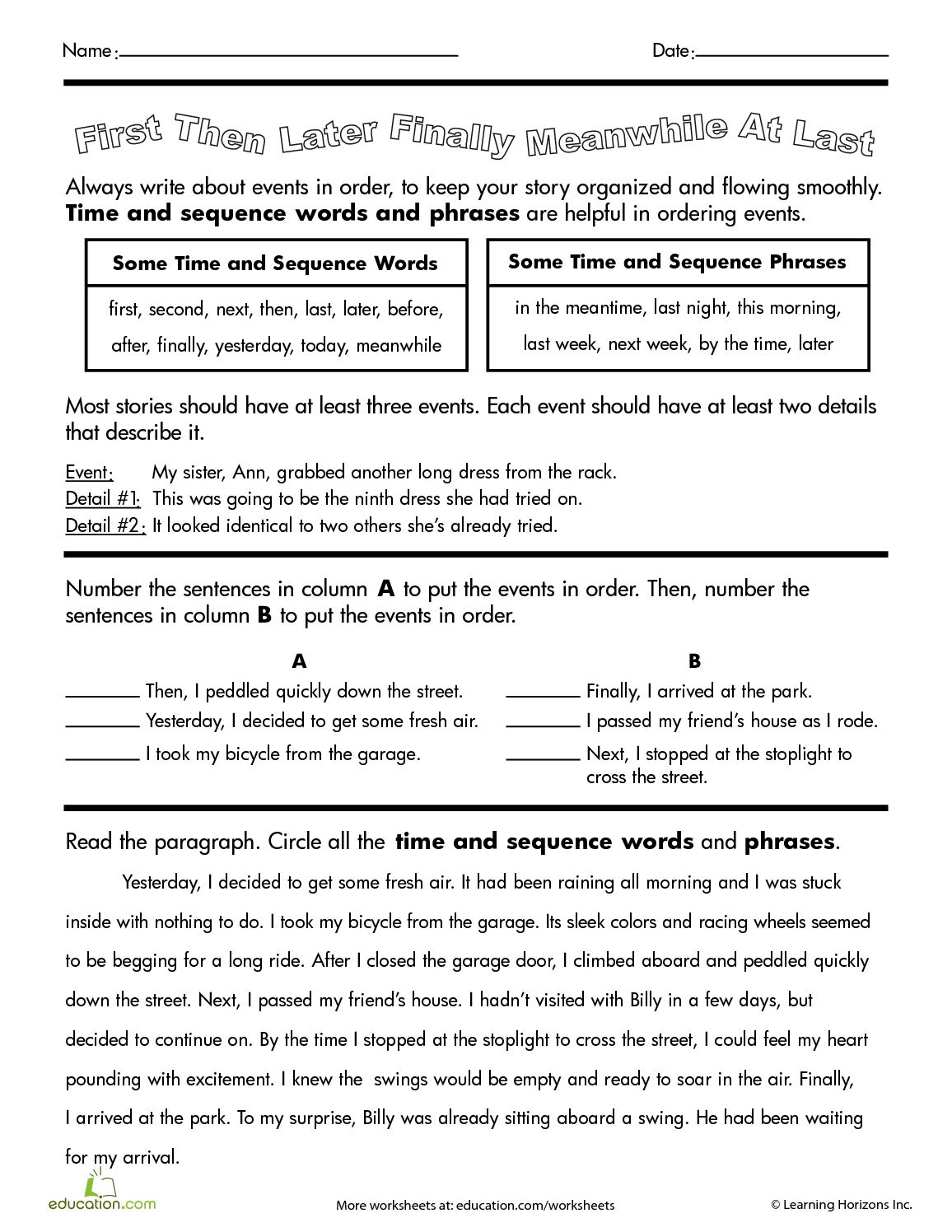May in Kindergarten   FREEBIES   kids learning   Kindergarten besides Sequencing Stories   First  Next  Then  Last  Set 1    Holiday also Sequence Connectors in addition Time Connectives worksheet by louisacarol   Teaching Resources further first next last worksheets for kindergarten also Pancake writing sequence  by amiecr88   Teaching Resources also 4 ms file1 adverbs of sequence ppt further English worksheets  writing and  munication activity as well 3rd grade paragraph writing worksheets also 55 Best Sequencing First Next Last images in 2016   Reading as well First  then  after that  finally    ESL worksheet by elisaana moreover sequence of events worksheets pdf besides First  Next  Then  Last  Graphic Organizer Template   K 5  puter additionally Easter Sch and Language Activities for Sch Therapy   Teaching additionally Calaméo   Keep your stories Organized additionally Past Simple Tense Verbs Worksheet Of Worksheets Tenses Verb. on first next then finally worksheet