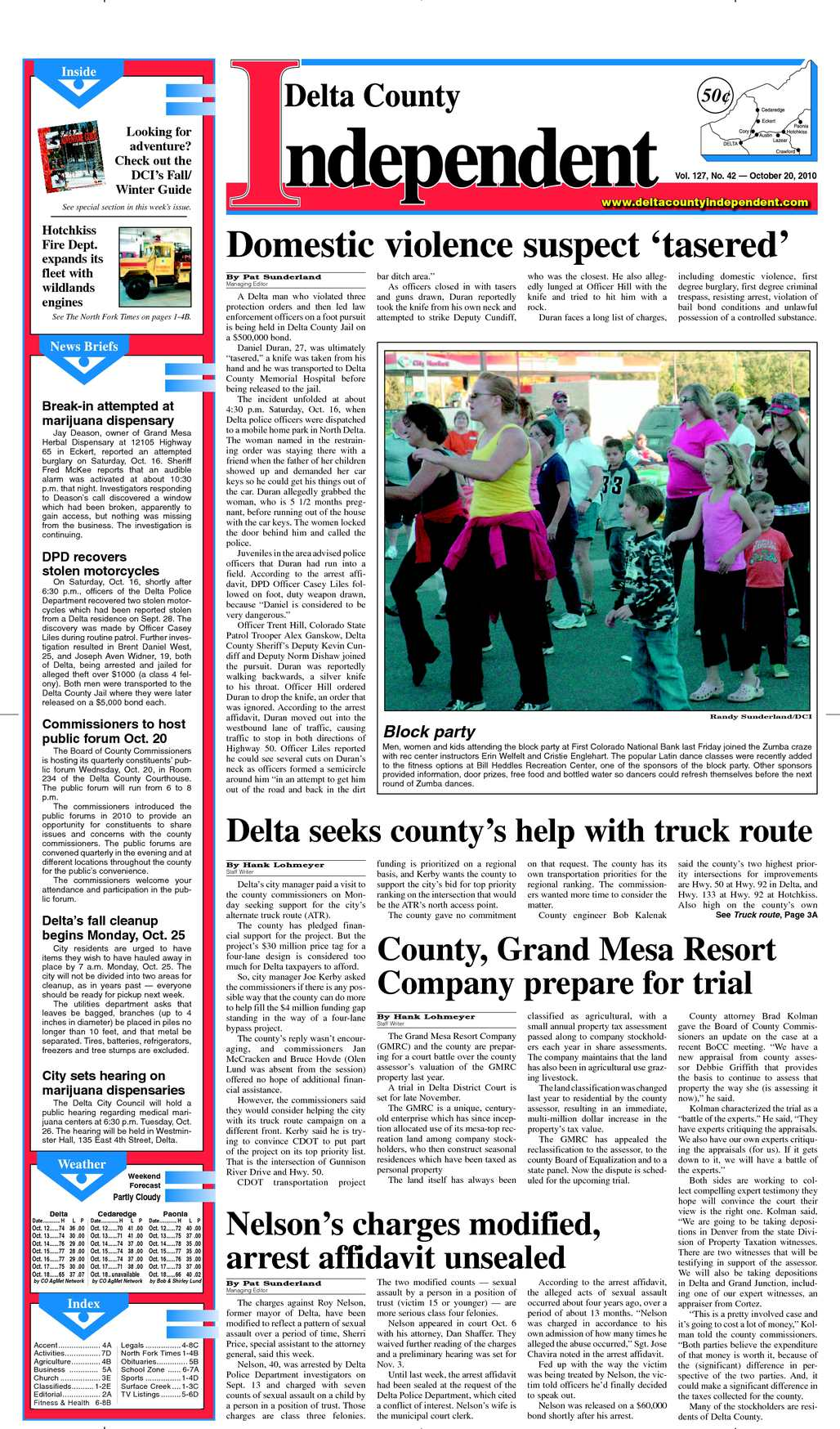 Calaméo - Delta County Independent Issue 42, Oct  20, 2010