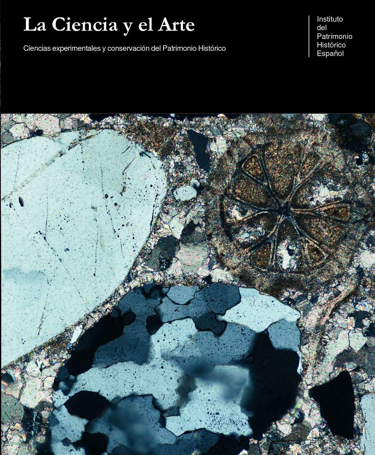 e0520d7a59 Calaméo - La Ciencia y el Arte. Ciencias experimentales y conservación del  Patrimonio Histórico