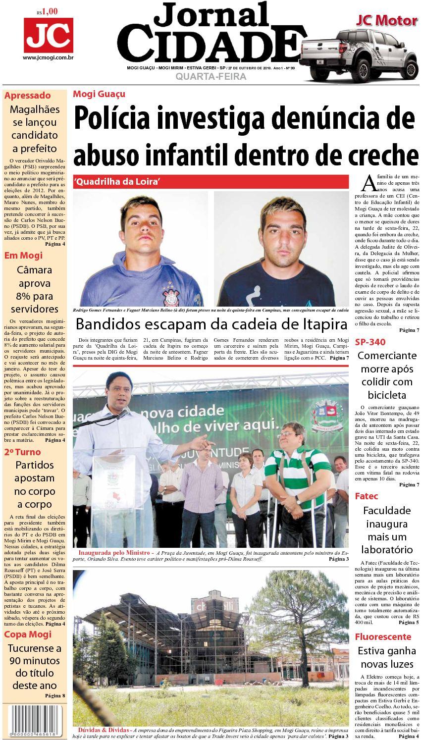 e1efcffab8 Calaméo - JC MOGI GUAÇU - 27-10-2010