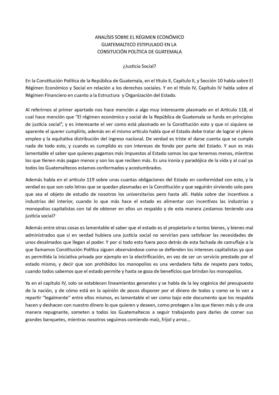 Calaméo Analísis Sobre La Constitución Financiera Guatemala