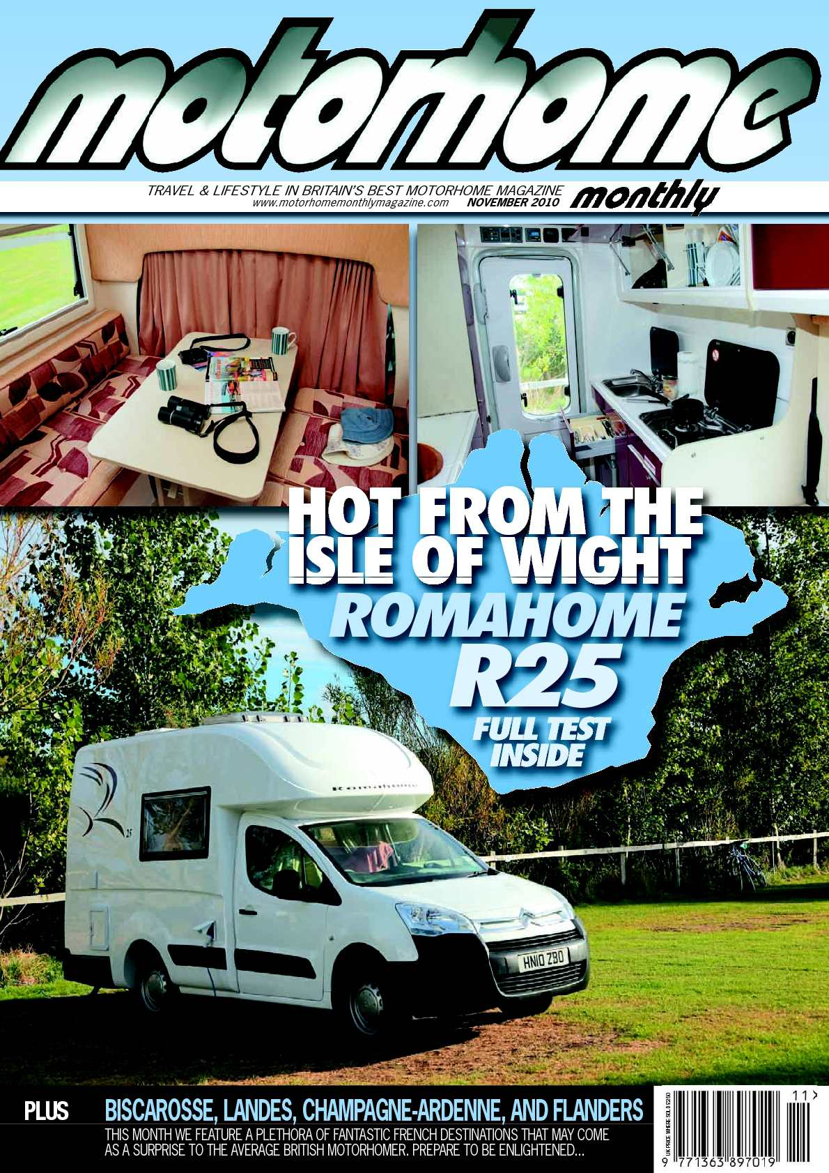 Calamo November 2011 Motorhome Monthly Magazine Pole Flat Trailer Light Plug 12v Circuit Tester Led Truck Ebay
