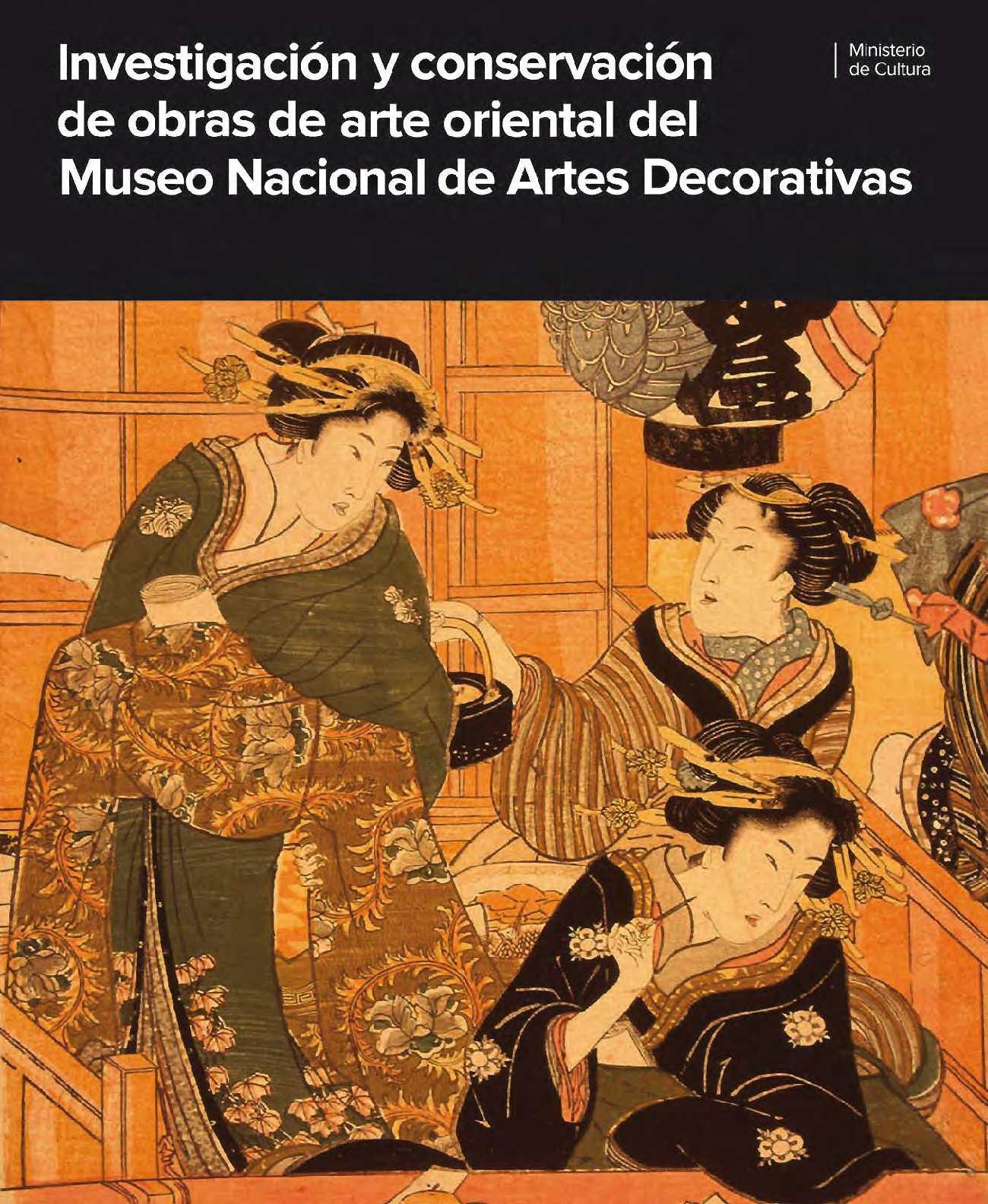 0c14f1e80 Calaméo - Investigación y conservación de obras de arte oriental del Museo  Nacional de Artes Decorativas