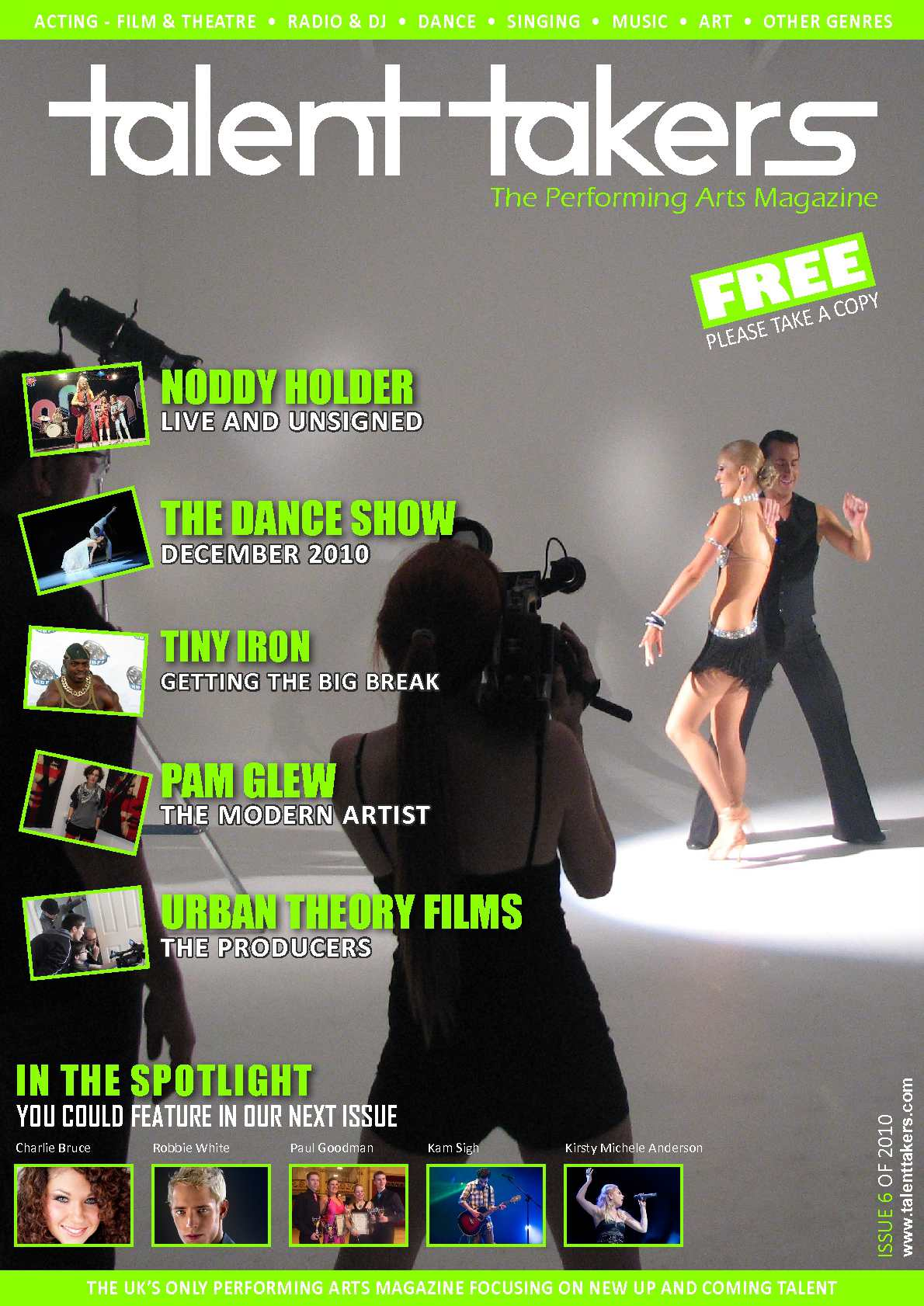 569c4ad360 Calaméo - Talent Takers - The Performing Arts Magazine - Issue 6