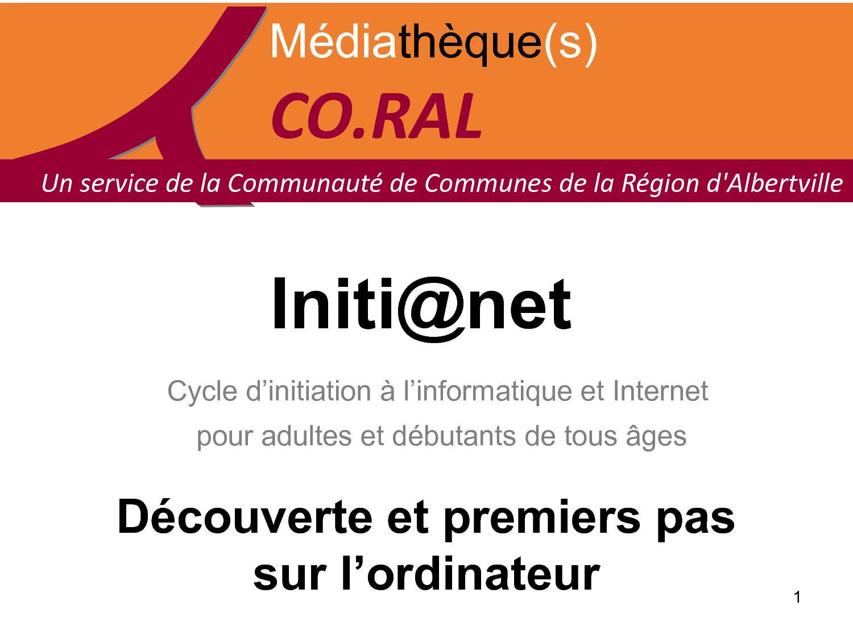 Initi@net- Découverte de l'ordinateur