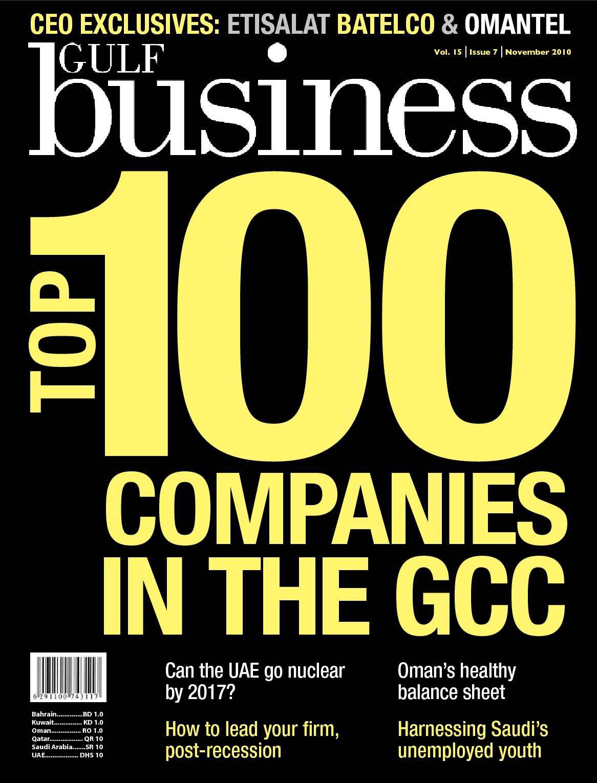 Calaméo - Gulf Business | November 2010