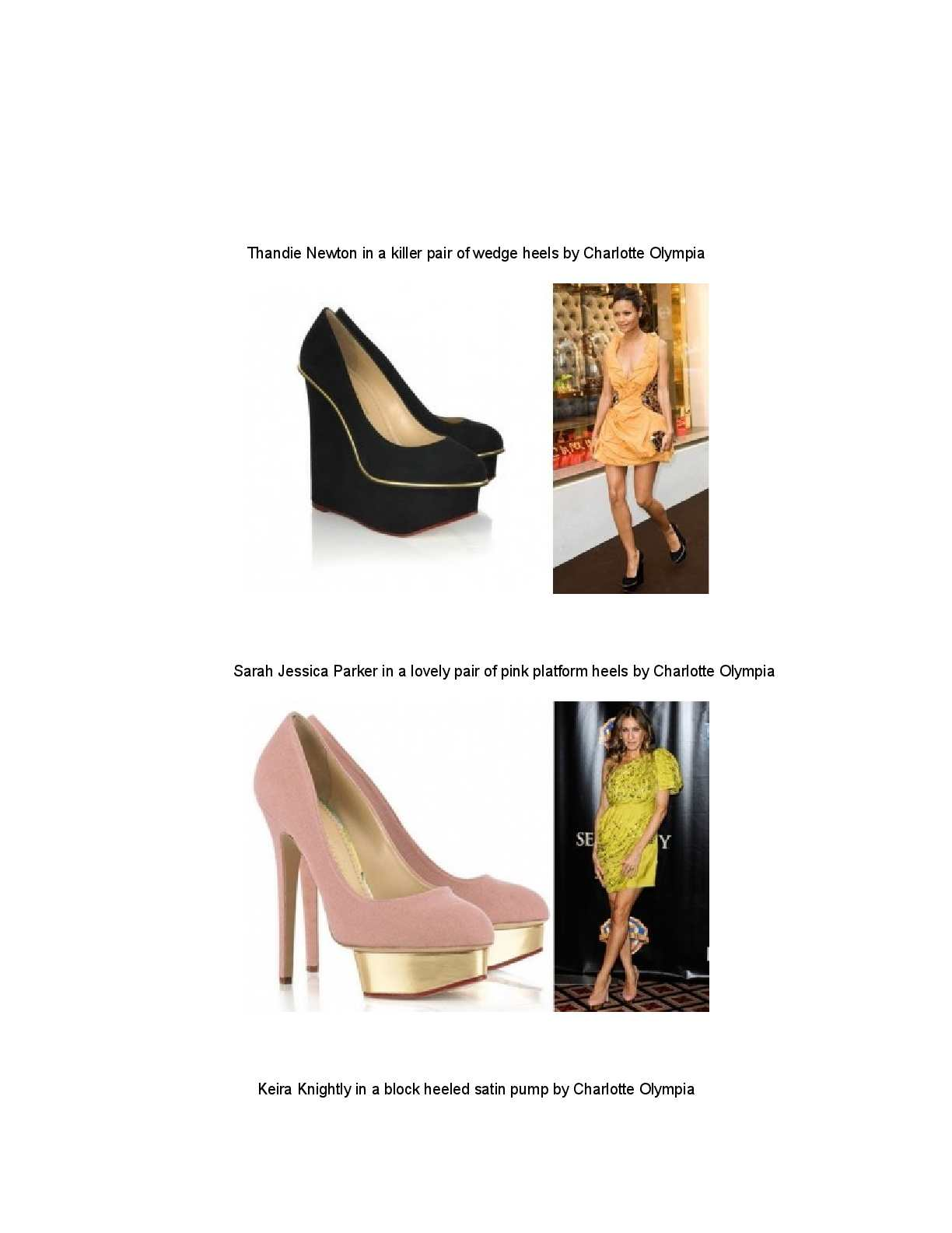 8670161340 Calaméo - Thandie Newton in a killer pair of wedge heels by Charlotte  Olympia