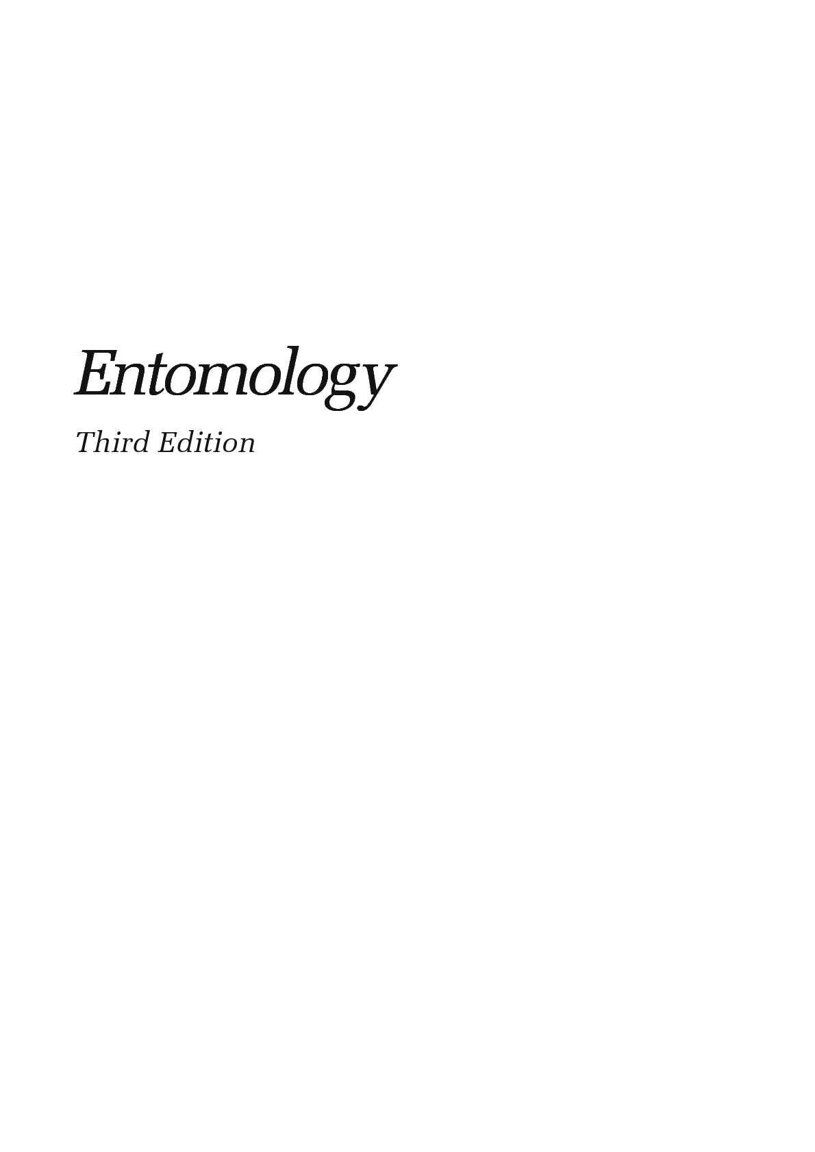 Calaméo - Entomology 3rd ed - C Gillott