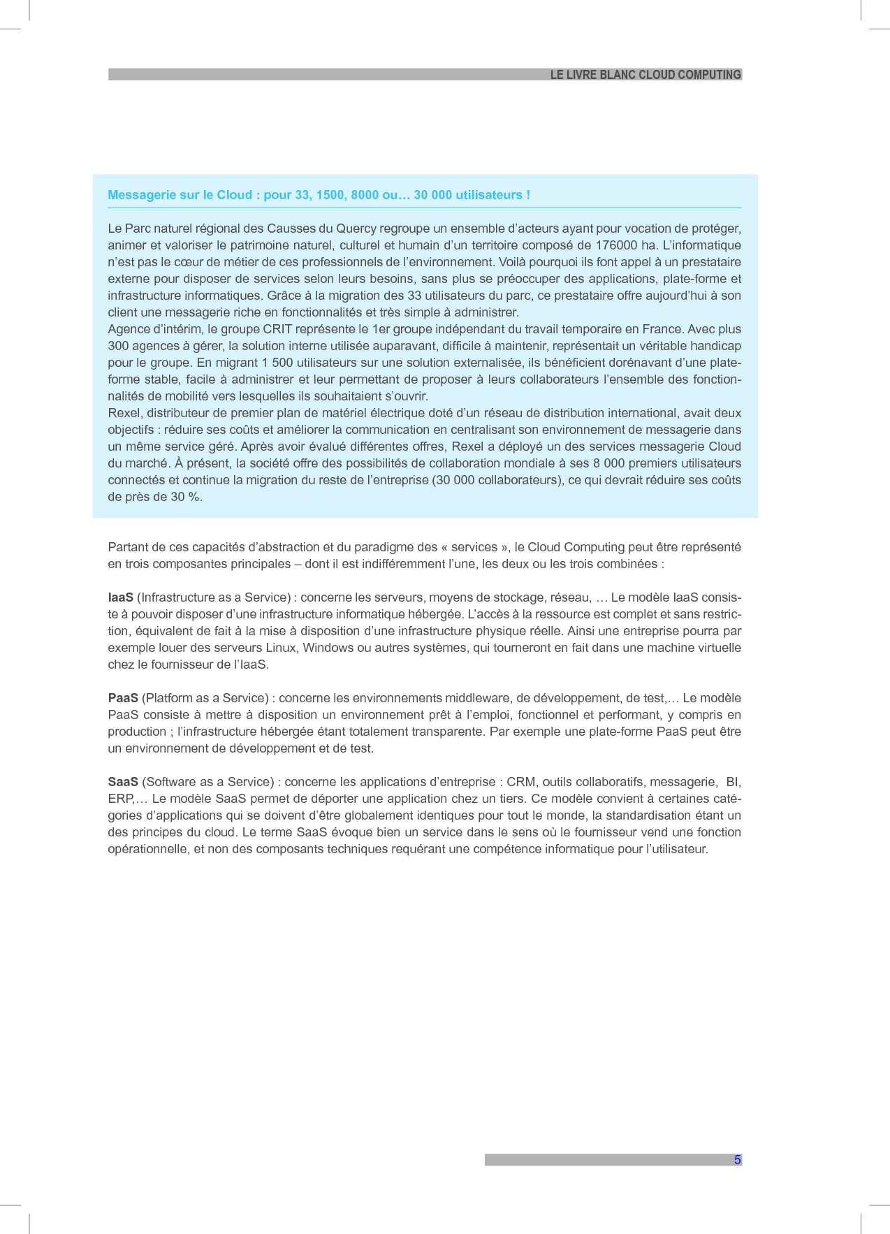 Livre Blanc Du Cloud Computing Calameo Downloader