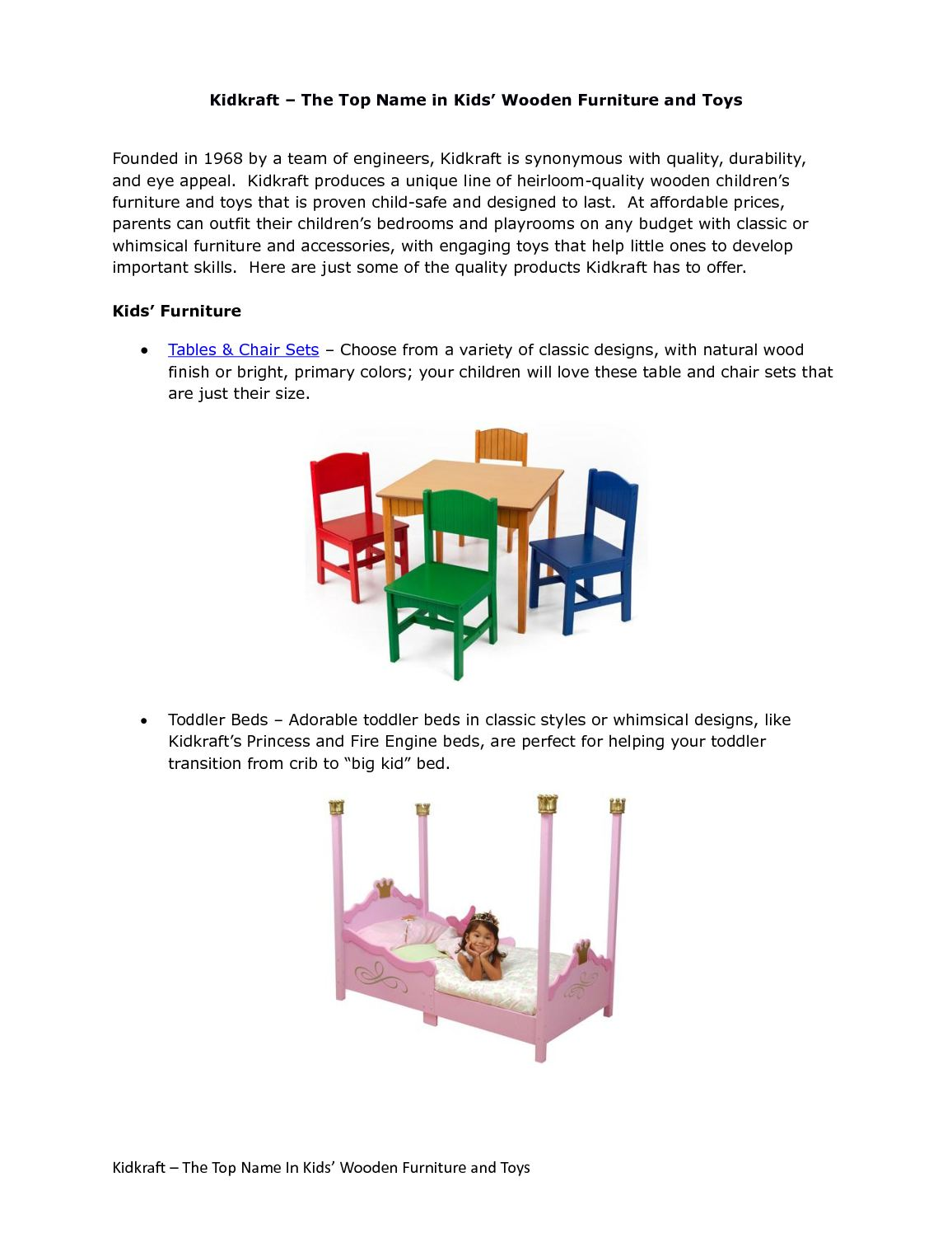 Fabulous Calameo Kidkraft The Top Name In Kids Wooden Furniture Bralicious Painted Fabric Chair Ideas Braliciousco
