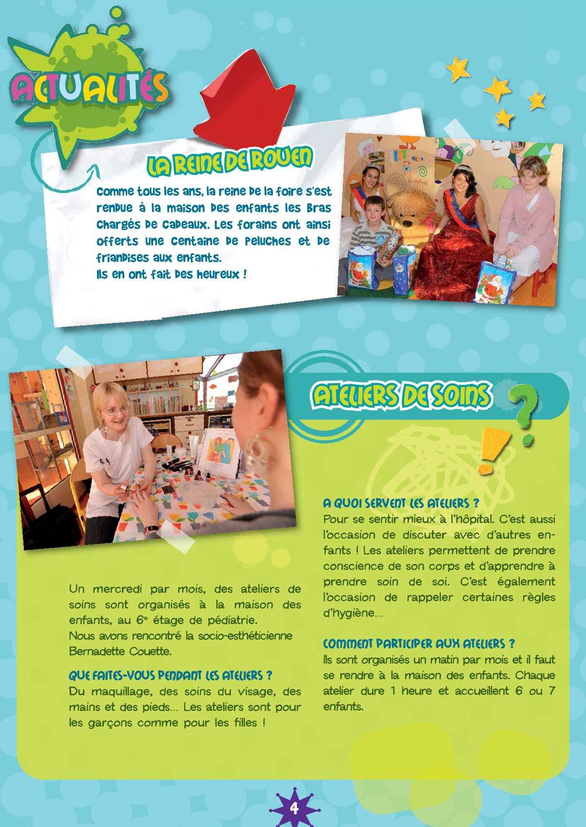 Les 4 Pieds Rouen canaill'news n°4 - magazine enfant chu de rouen - calameo