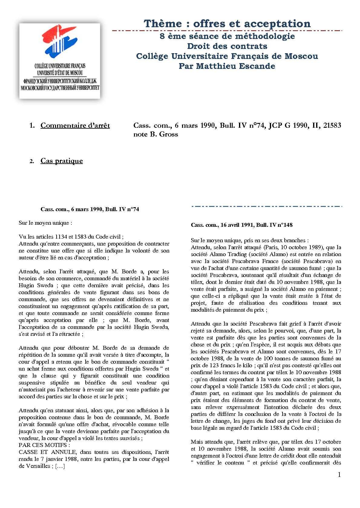 article 1583 du code civil commentaire. Black Bedroom Furniture Sets. Home Design Ideas