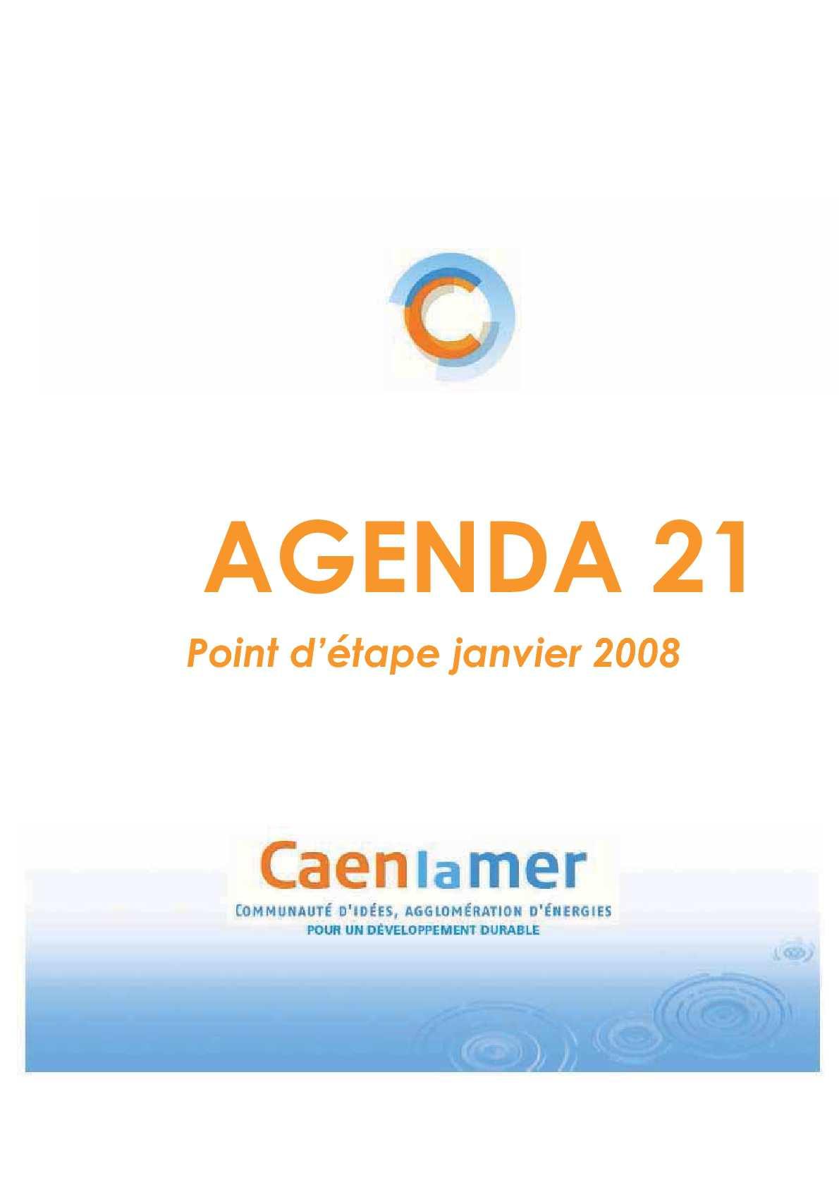 Calaméo Agenda 21 Caen La Mer Point Détape Janvier 2008