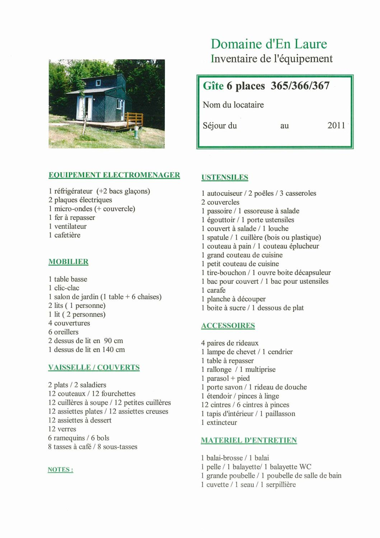 Calaméo - Inventaires - plans - tarifs