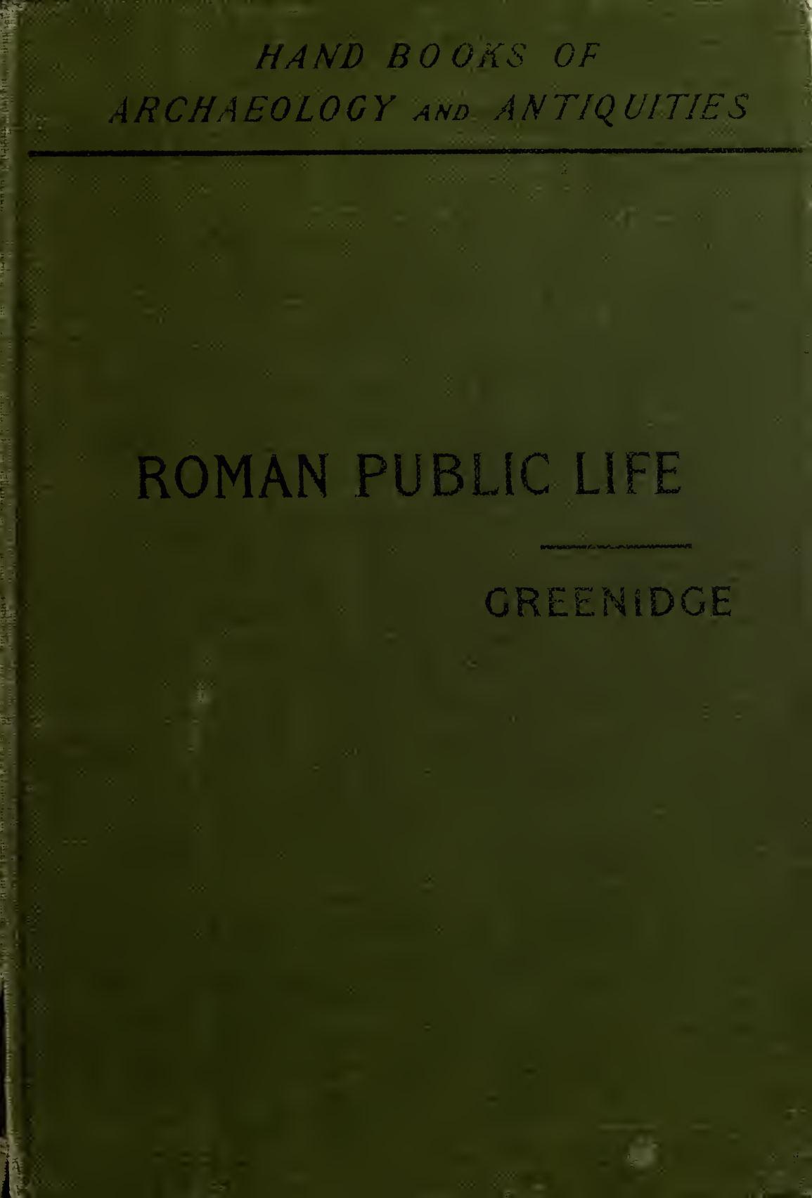 Calaméo - Roman Public Life