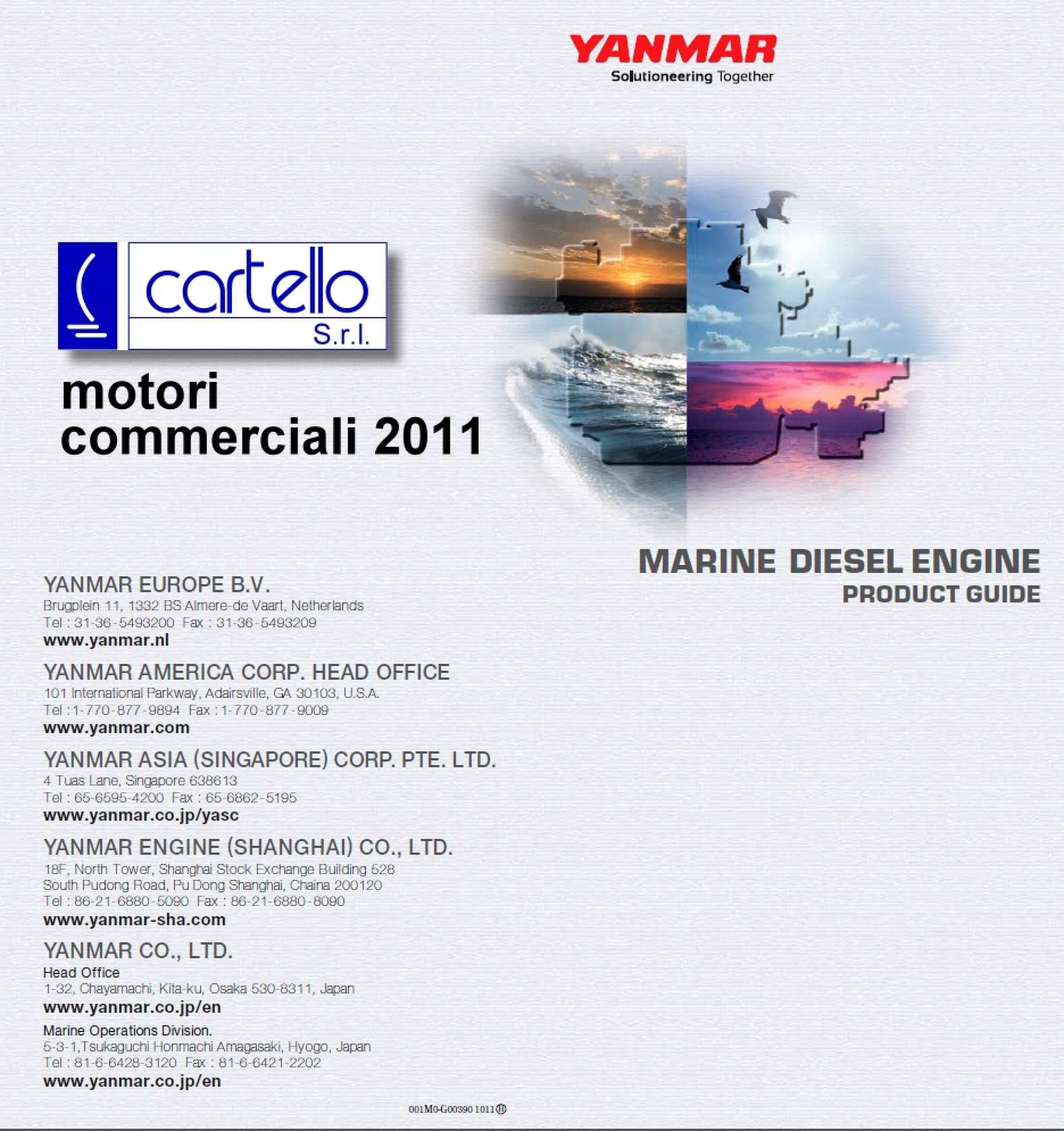 Calaméo - motori commerciali 2011