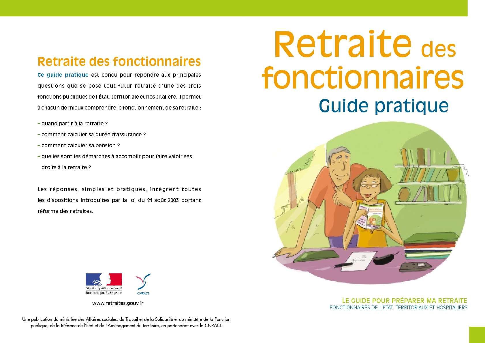 Calameo Guide Pratique De La Retraite Des Fonctionnaires