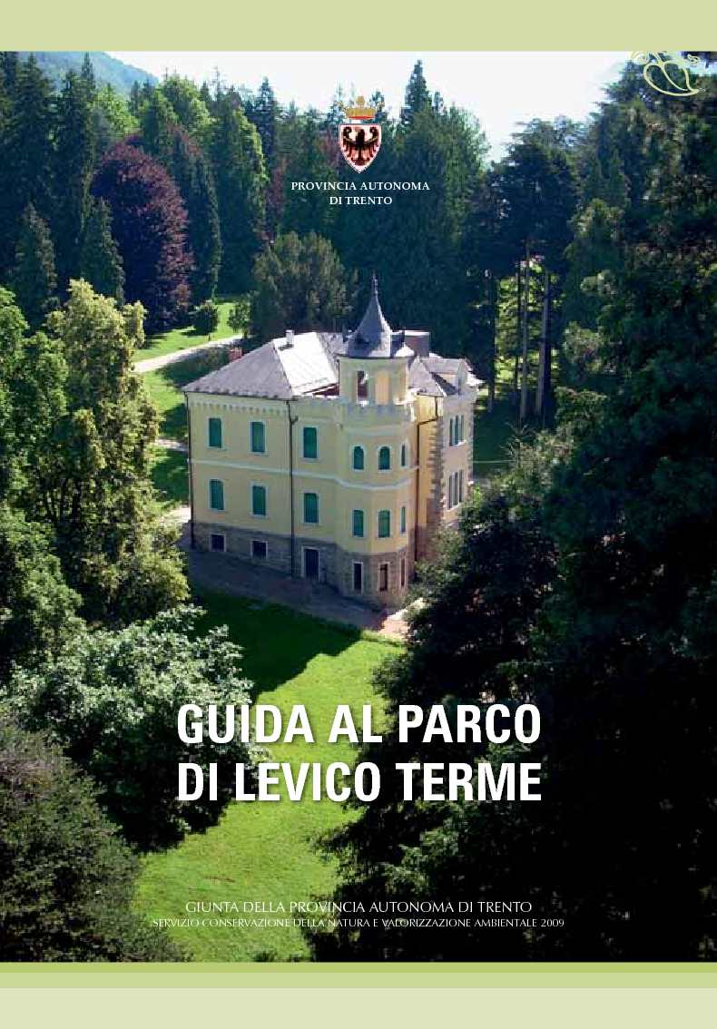 Calaméo - Guida al Parco di Levico Terme