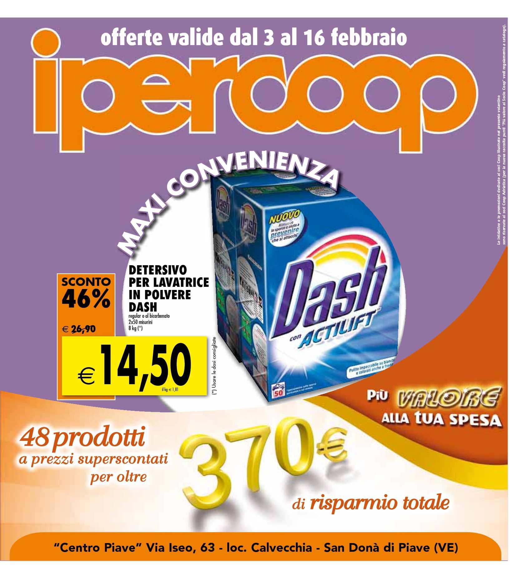 Calaméo - Offerte Ipercoop - San Donà di Piave - dal 3 al 16 Febbraio 2011 88e8d87de44