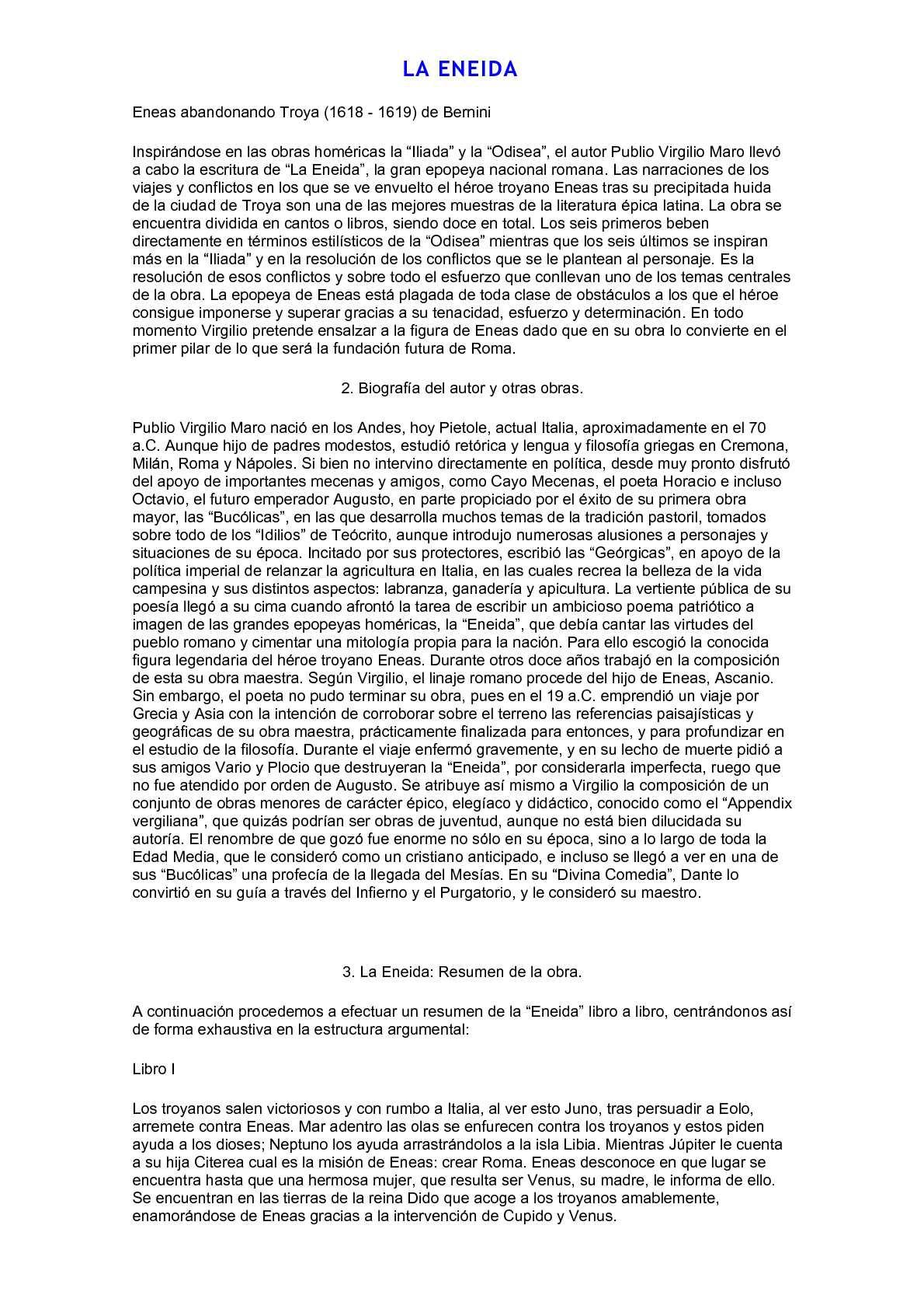 Calaméo La Eneida Y La Divina Comedia