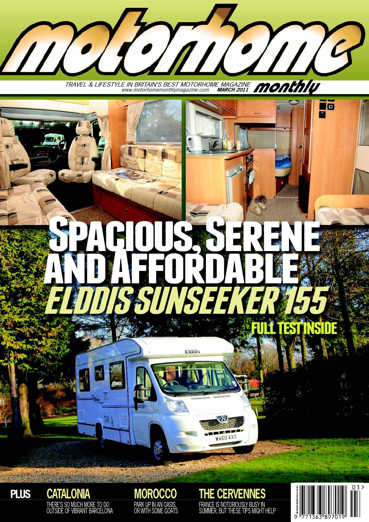 016eee49ad Calaméo - March 2011 - Motorhome Monthly Magazine