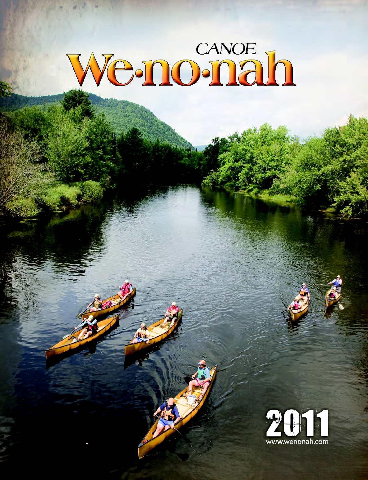Calaméo - 2011 Wenonah Canoe Catalog