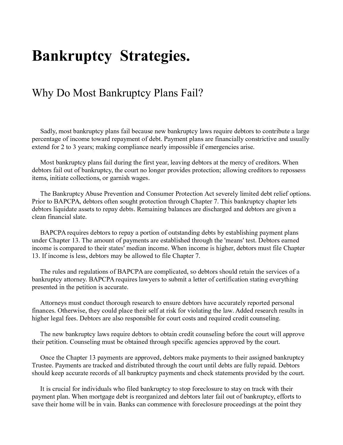 Calaméo - Bankruptcy Strategies
