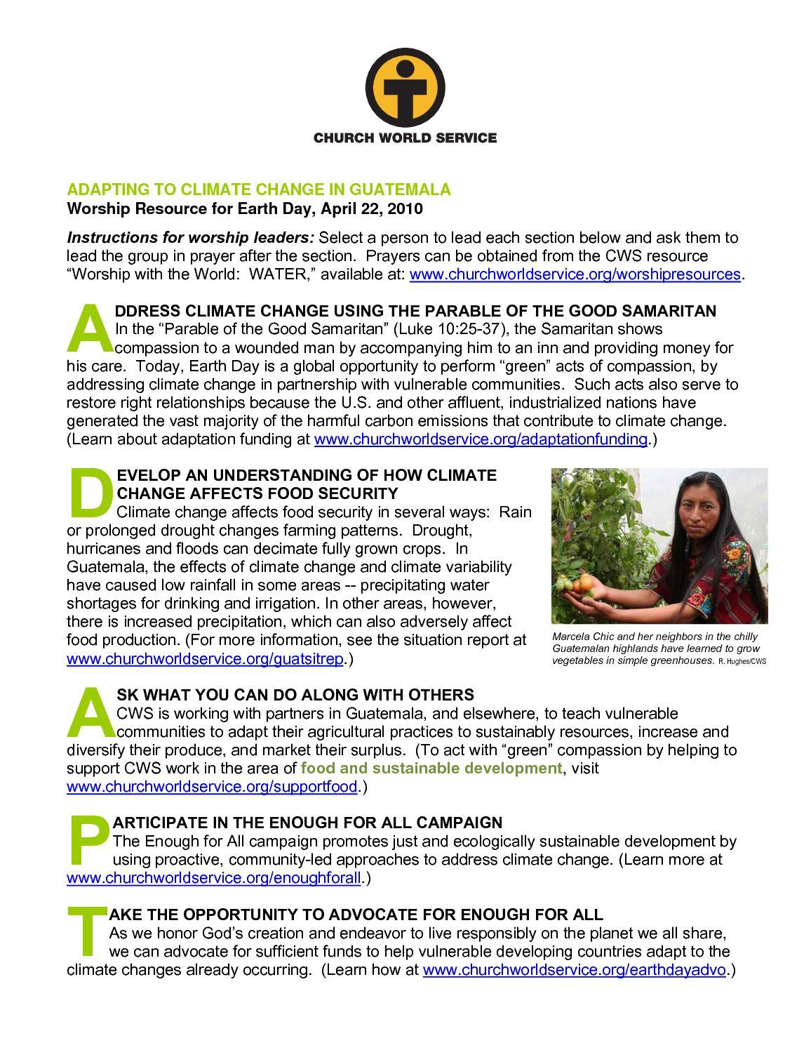 Calaméo - Adapting to Climate Change in Guatemala - Church