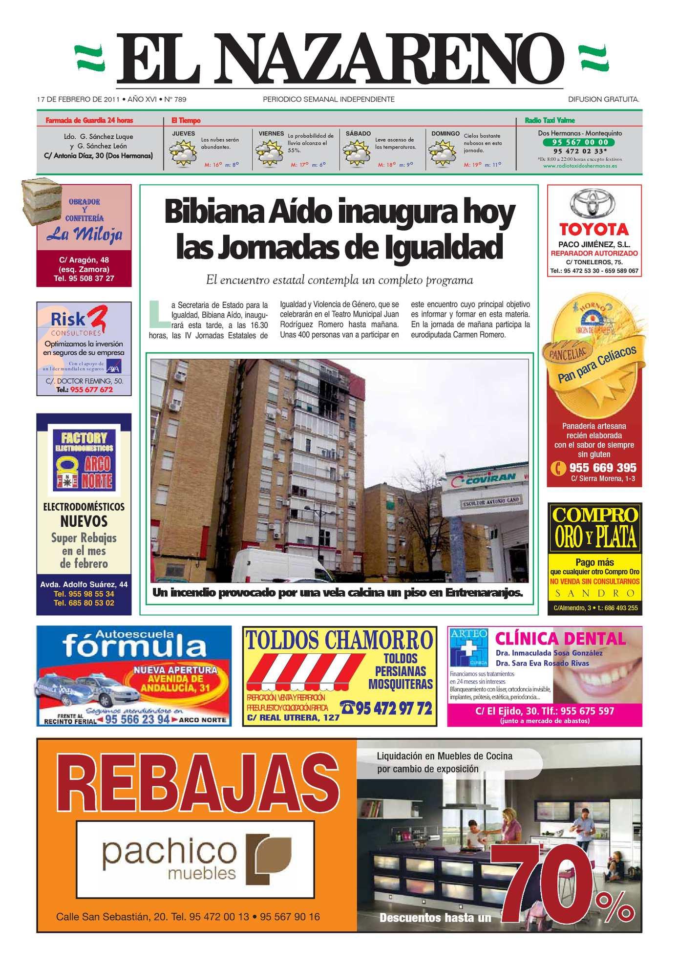 Calaméo Periódico El Nazareno De Dos Hermanas Nº 789