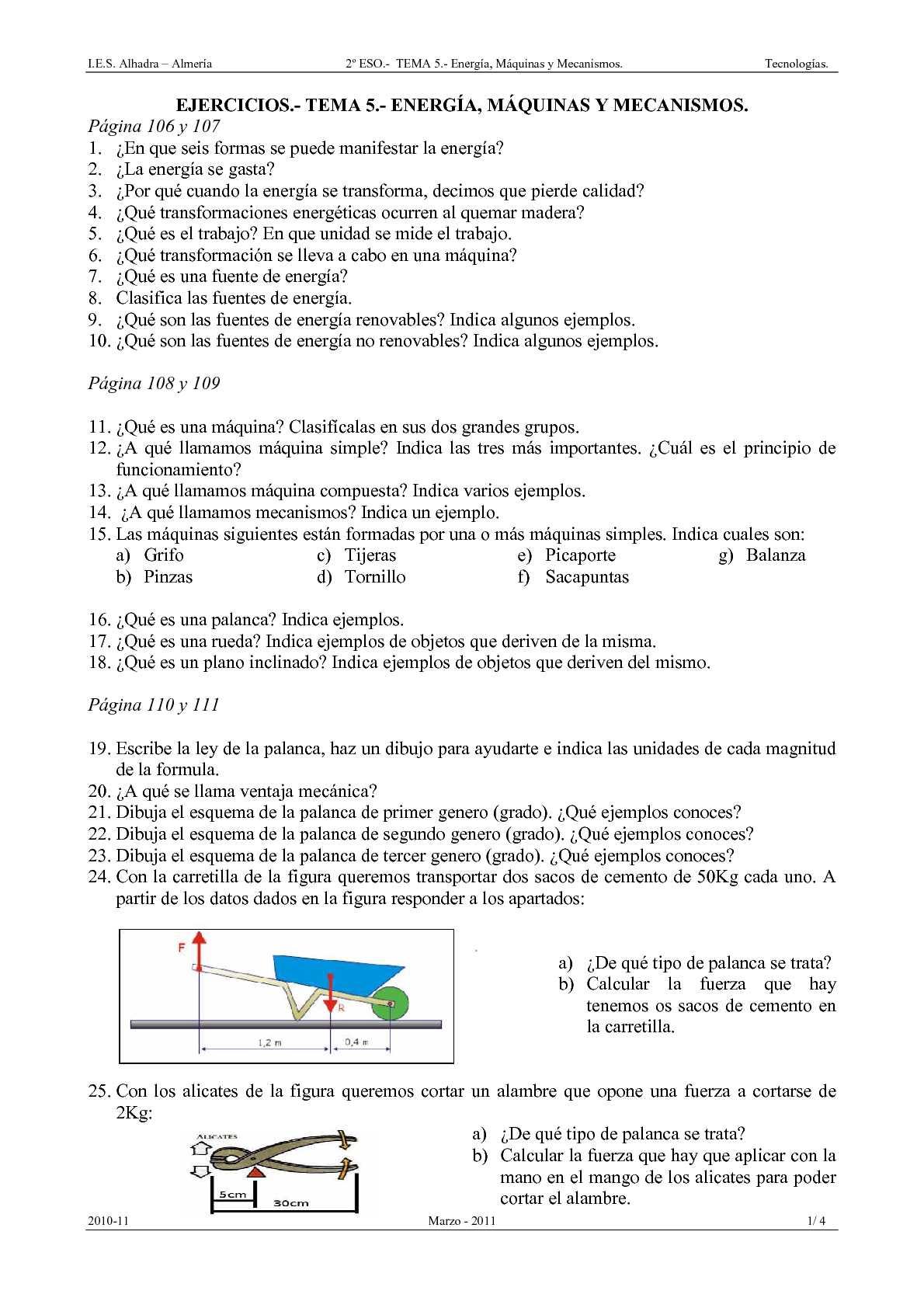 1 eso ingles ejercicios pdf