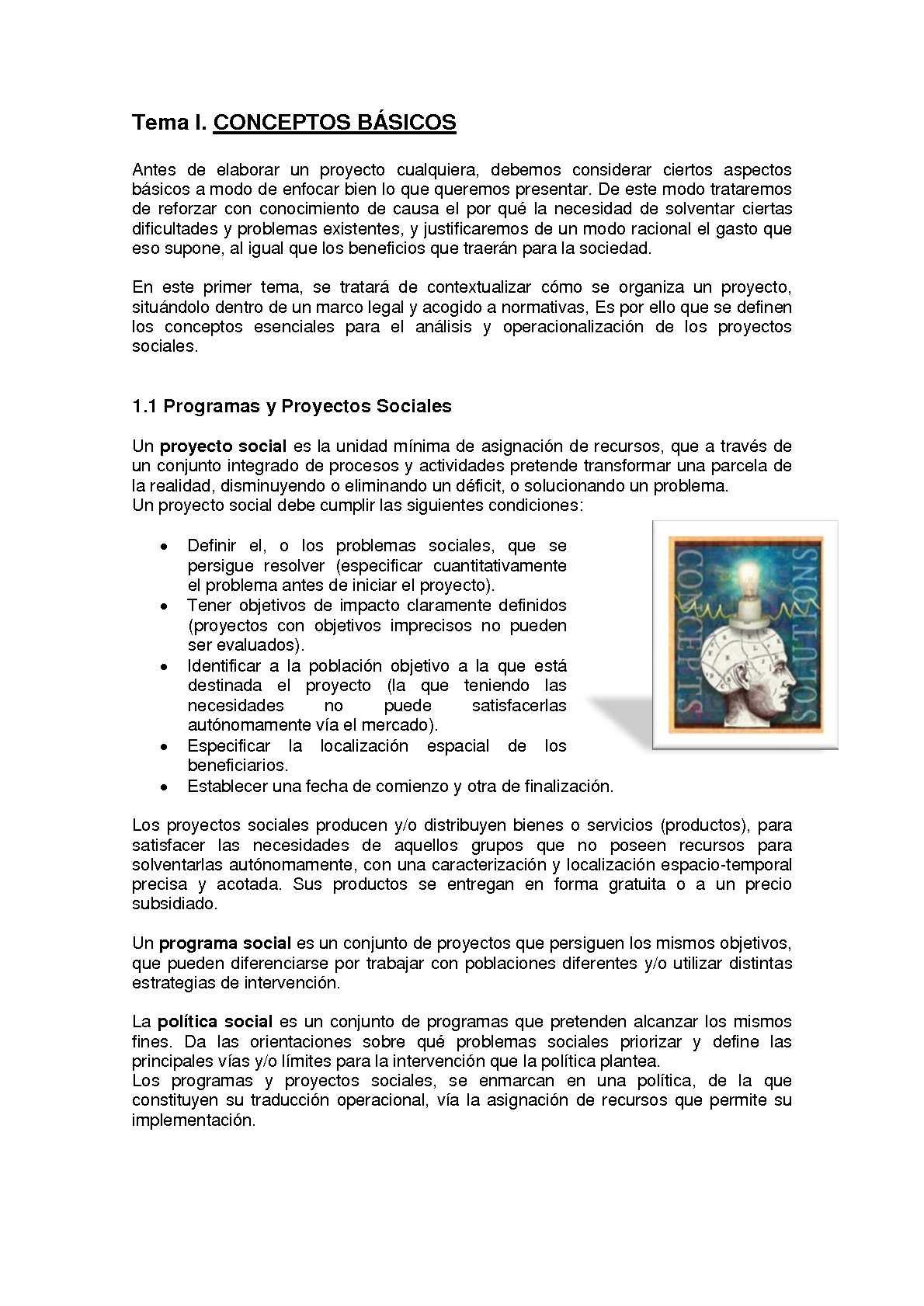 CREACIÓN Y DISEÑO DE PROYECTOS SOCIALES
